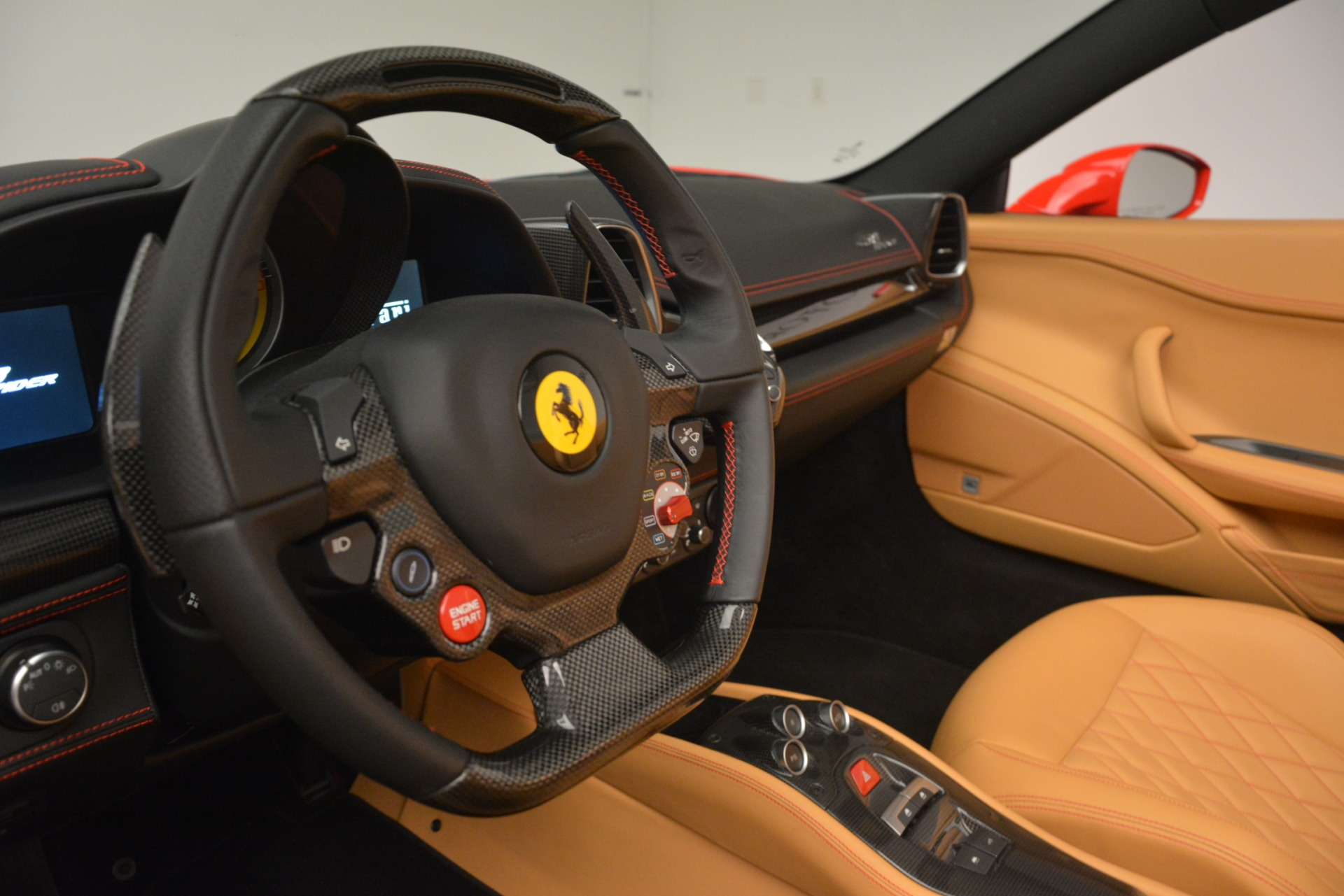 Used 2015 Ferrari 458 Spider  For Sale In Greenwich, CT. Alfa Romeo of Greenwich, 4576 3233_p22