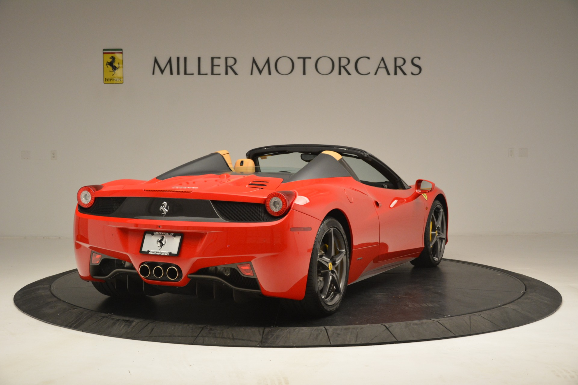 Used 2015 Ferrari 458 Spider  For Sale In Greenwich, CT. Alfa Romeo of Greenwich, 4576 3233_p8