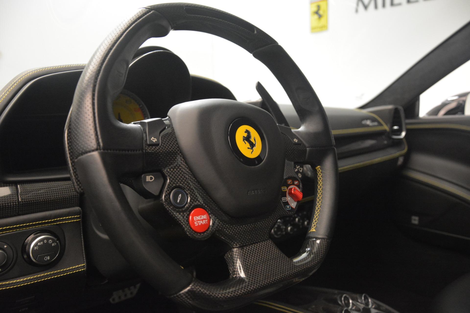 Used 2011 Ferrari 458 Italia  For Sale In Greenwich, CT. Alfa Romeo of Greenwich, 4578 3236_p20
