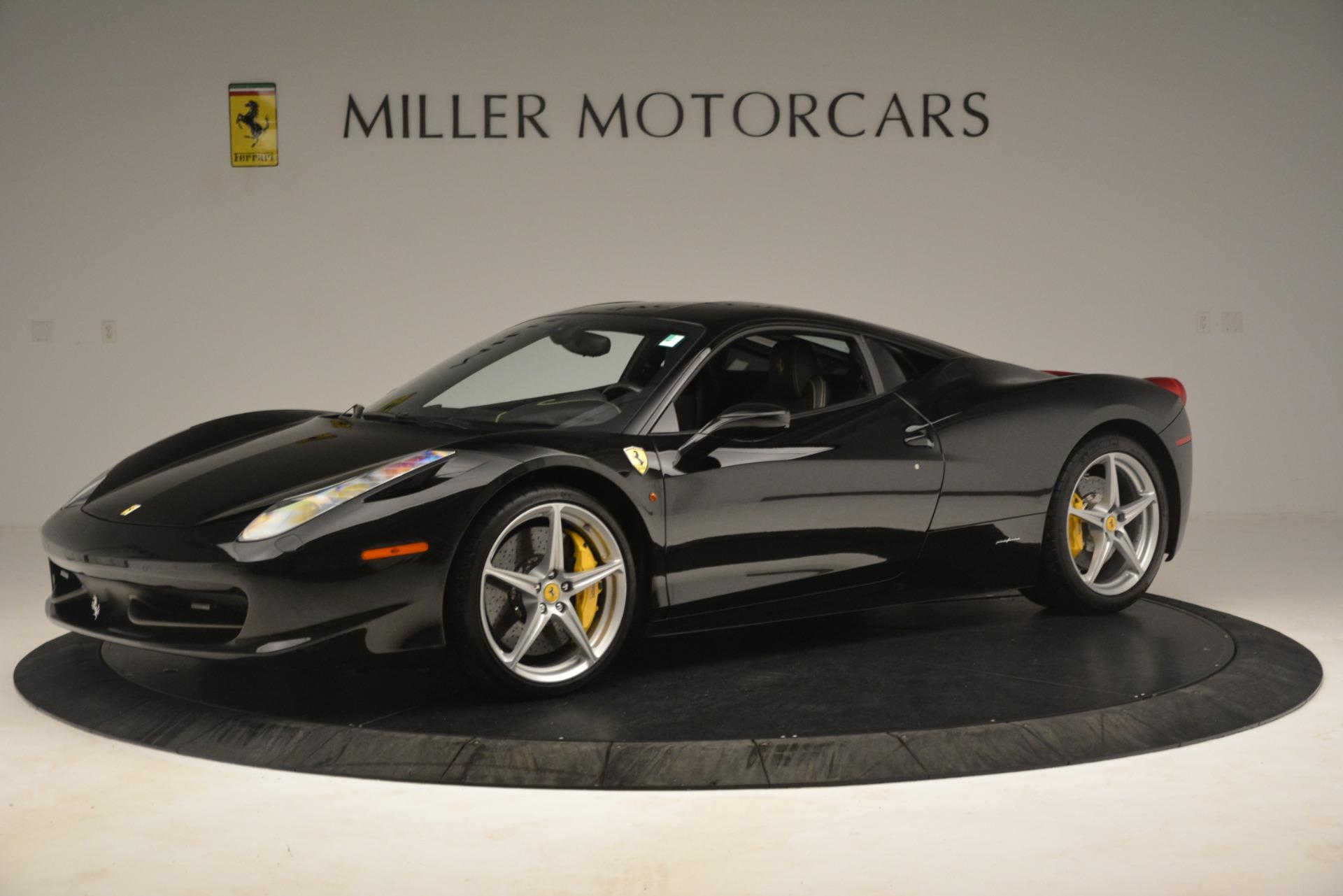 Used 2011 Ferrari 458 Italia  For Sale In Greenwich, CT. Alfa Romeo of Greenwich, 4578 3236_p2