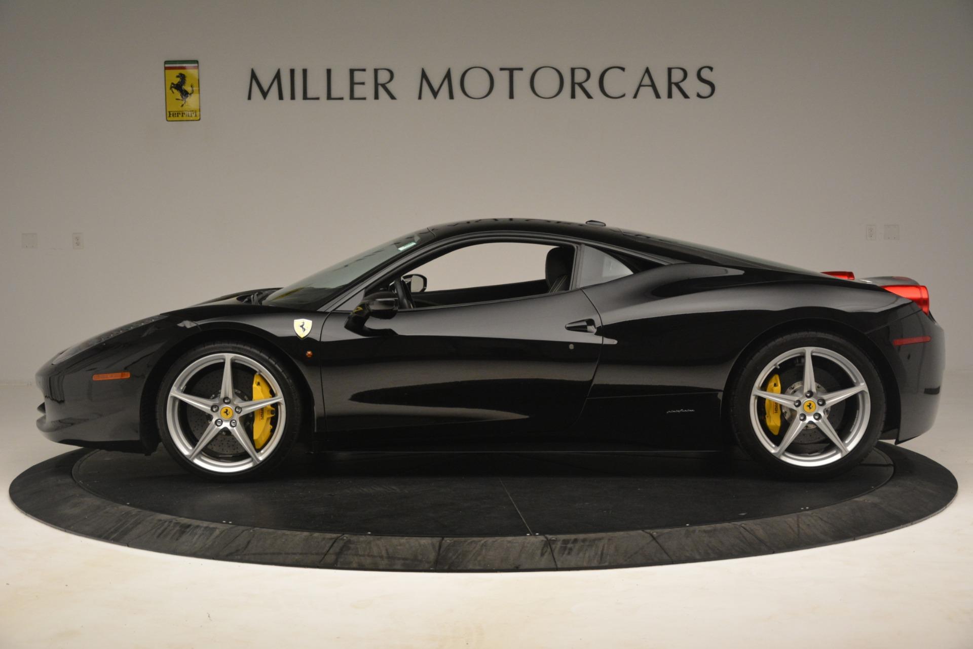 Used 2011 Ferrari 458 Italia  For Sale In Greenwich, CT. Alfa Romeo of Greenwich, 4578 3236_p3