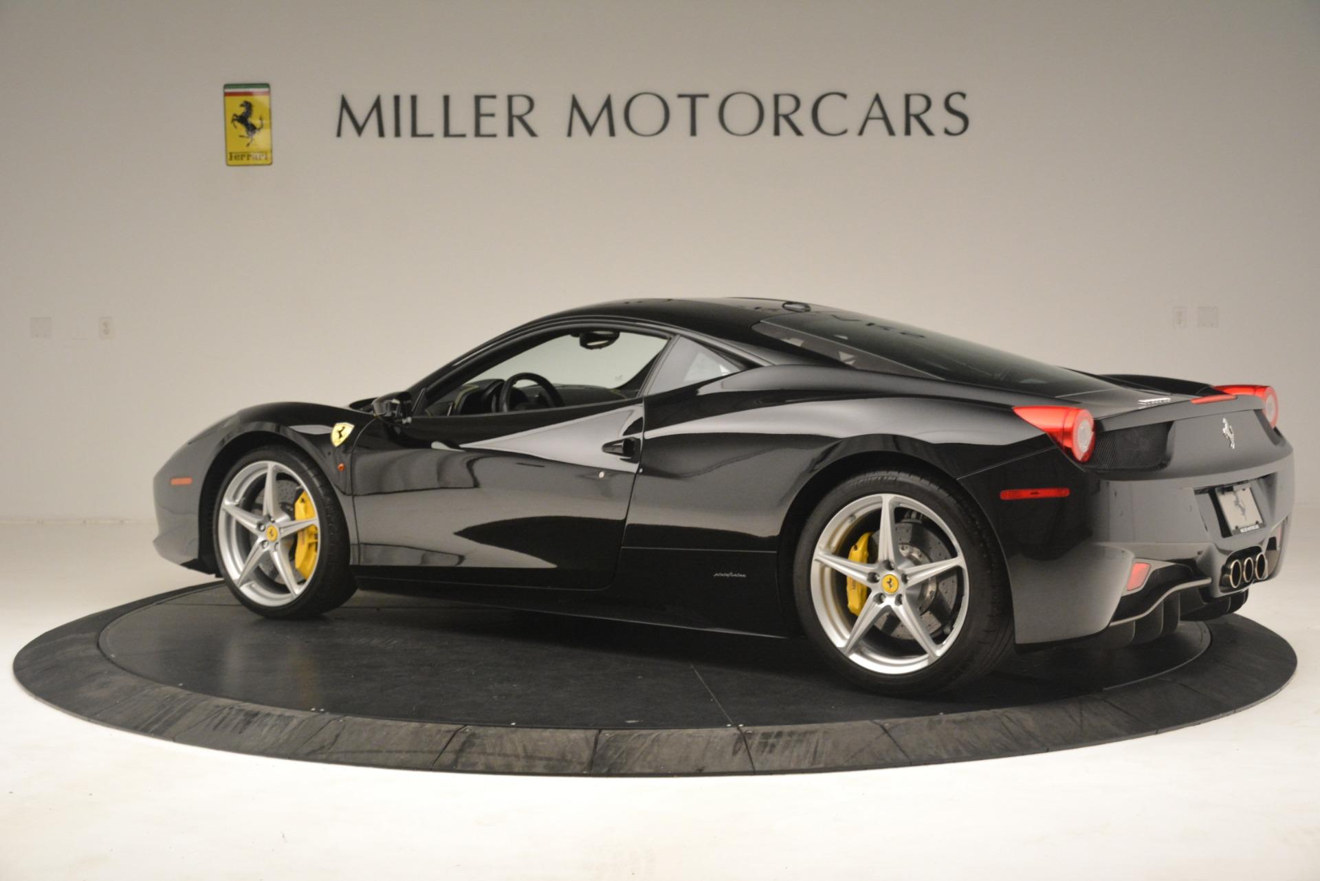 Used 2011 Ferrari 458 Italia  For Sale In Greenwich, CT. Alfa Romeo of Greenwich, 4578 3236_p4