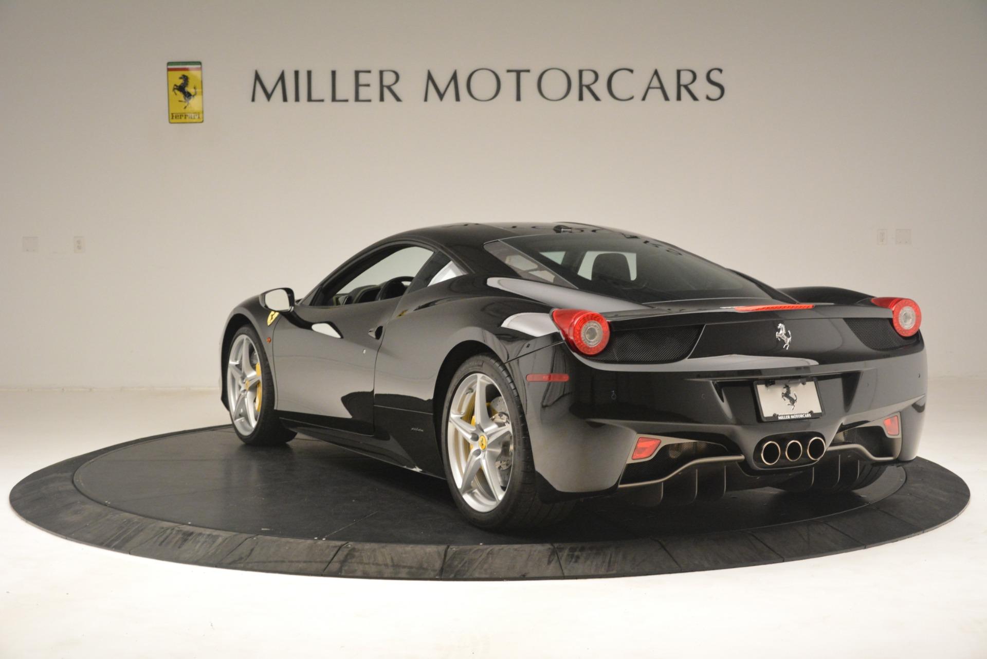 Used 2011 Ferrari 458 Italia  For Sale In Greenwich, CT. Alfa Romeo of Greenwich, 4578 3236_p5