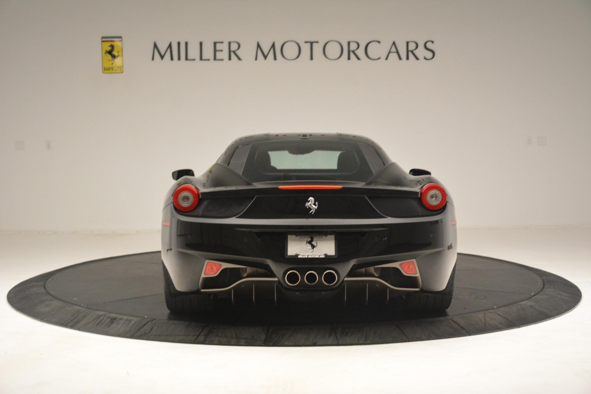 Used 2011 Ferrari 458 Italia  For Sale In Greenwich, CT. Alfa Romeo of Greenwich, 4578 3236_p6