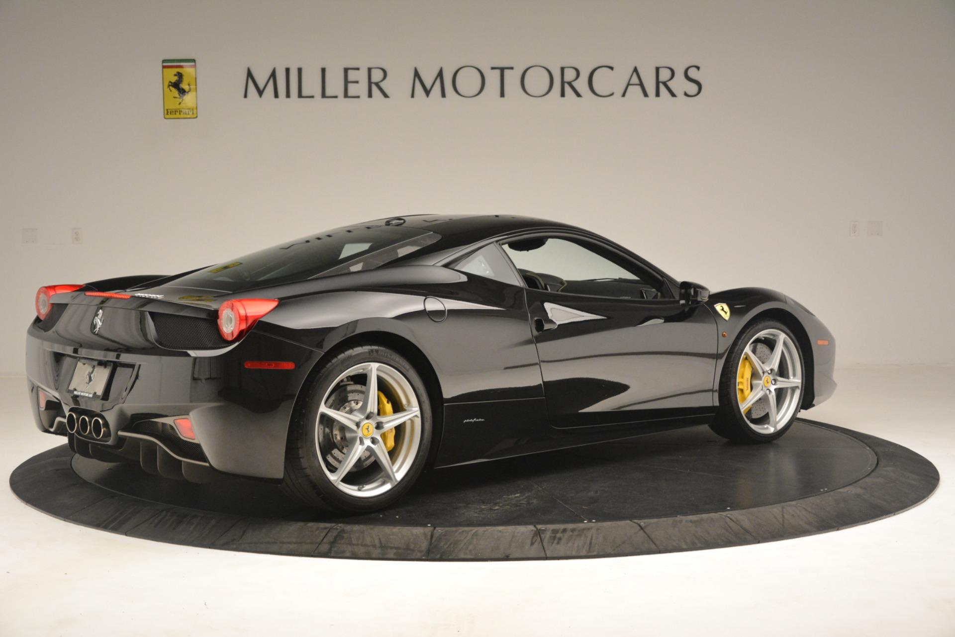 Used 2011 Ferrari 458 Italia  For Sale In Greenwich, CT. Alfa Romeo of Greenwich, 4578 3236_p8