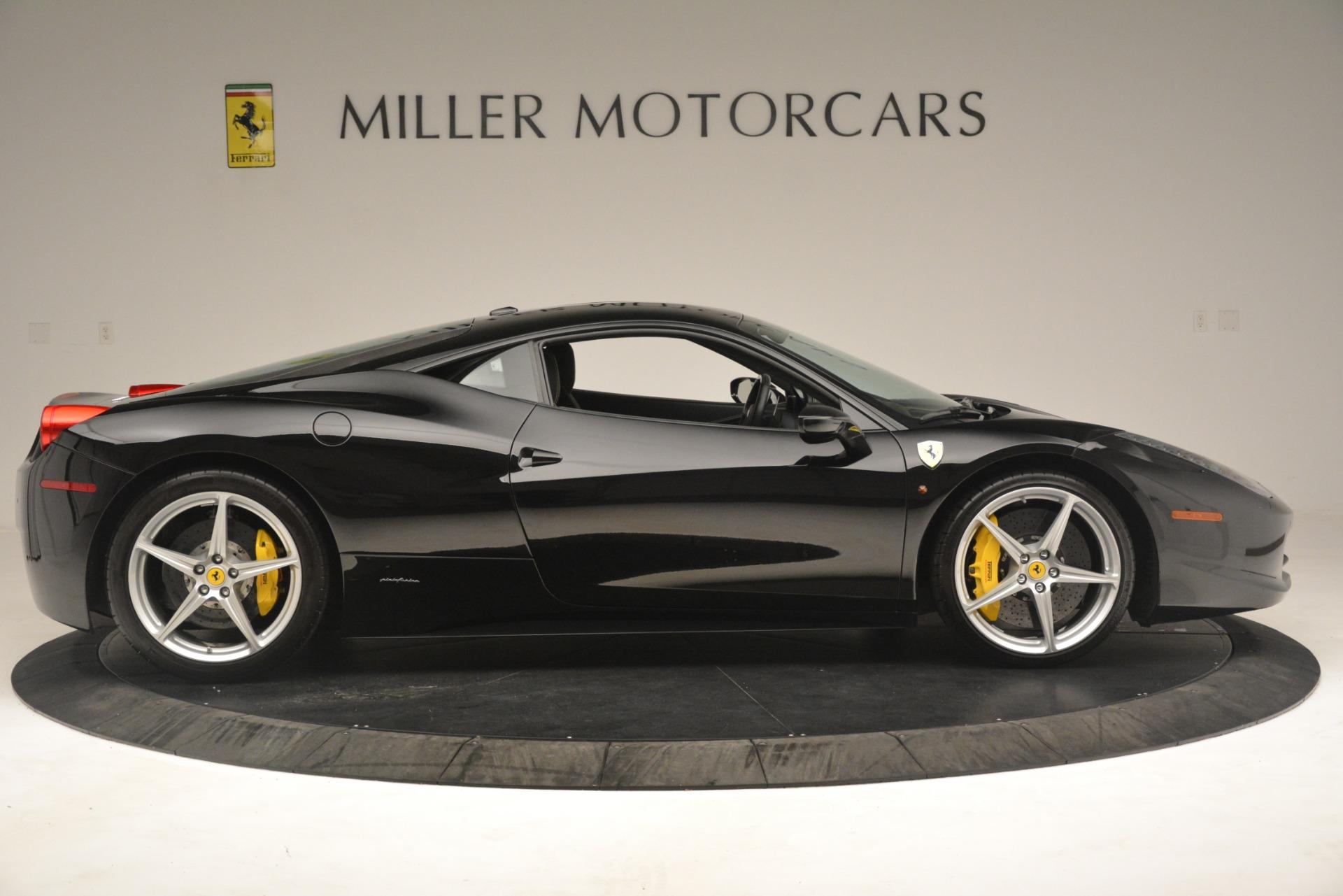 Used 2011 Ferrari 458 Italia  For Sale In Greenwich, CT. Alfa Romeo of Greenwich, 4578 3236_p9
