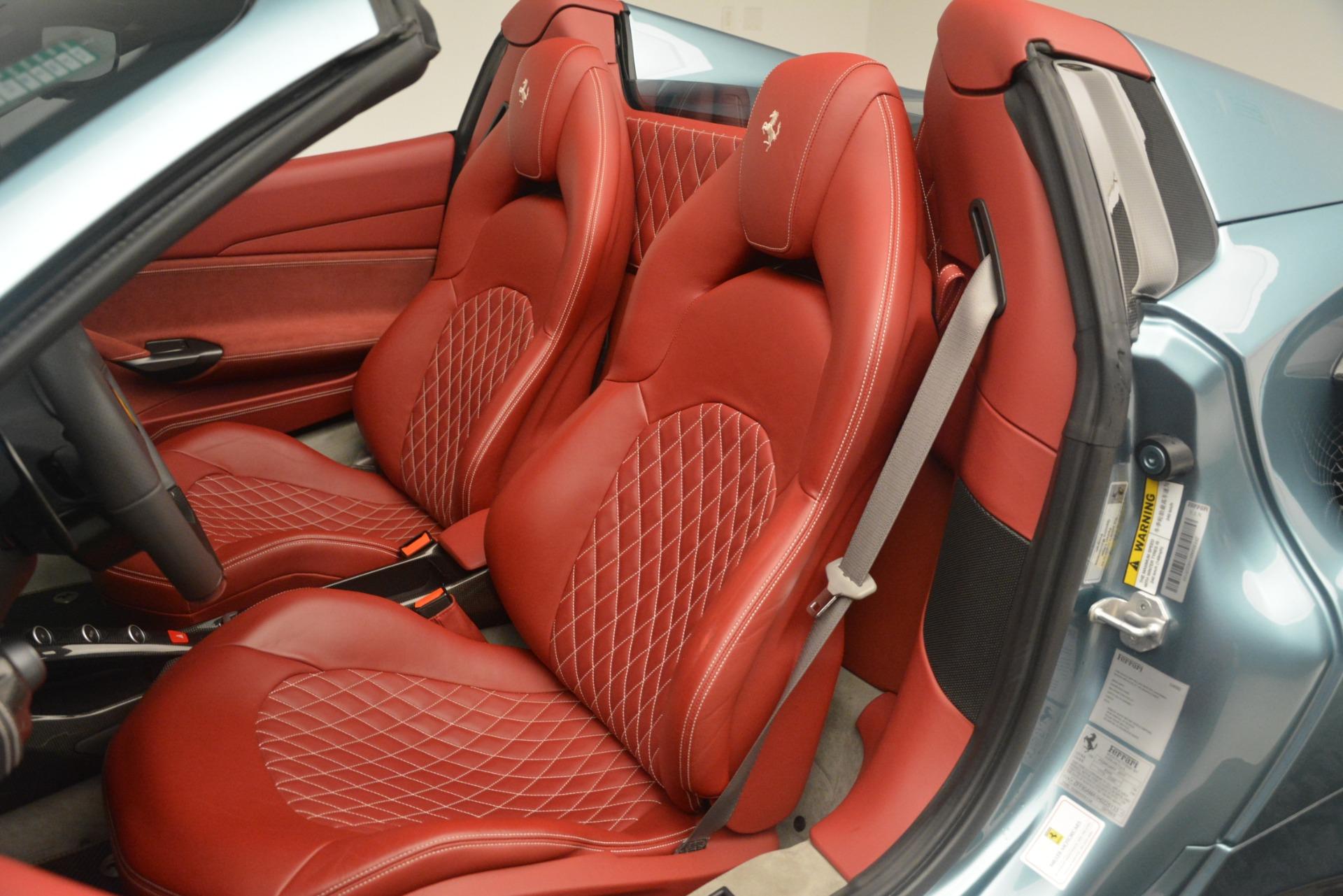 Used 2017 Ferrari 488 Spider  For Sale In Greenwich, CT. Alfa Romeo of Greenwich, 4577C 3237_p20