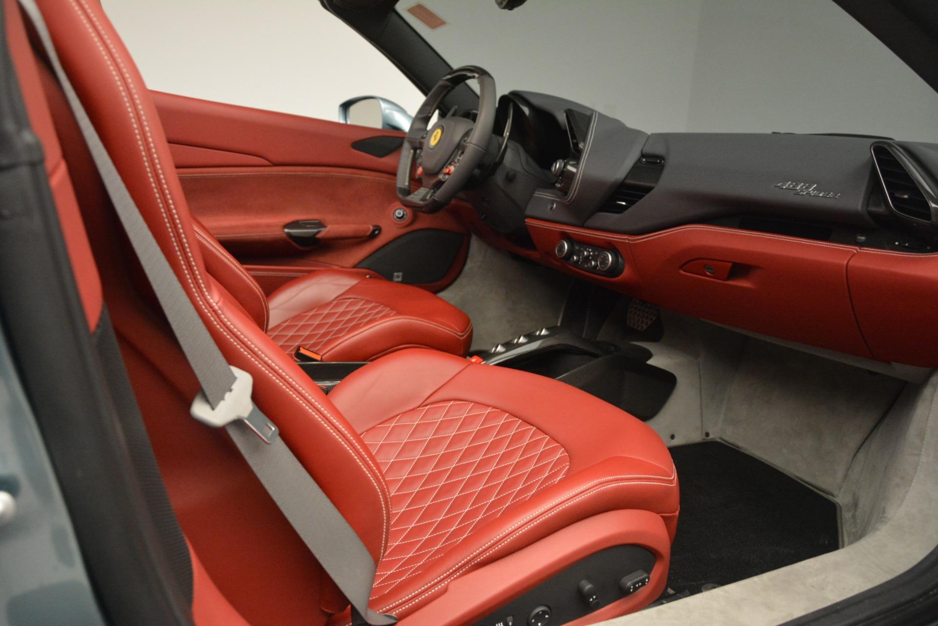 Used 2017 Ferrari 488 Spider  For Sale In Greenwich, CT. Alfa Romeo of Greenwich, 4577C 3237_p22