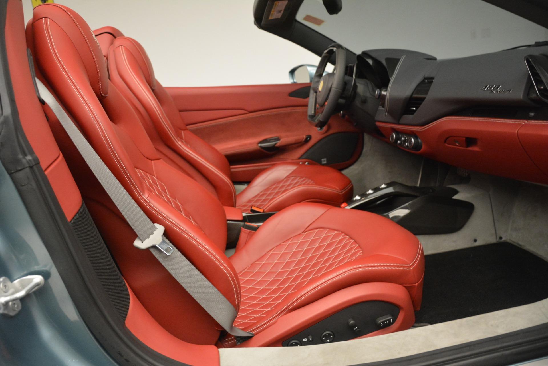 Used 2017 Ferrari 488 Spider  For Sale In Greenwich, CT. Alfa Romeo of Greenwich, 4577C 3237_p23