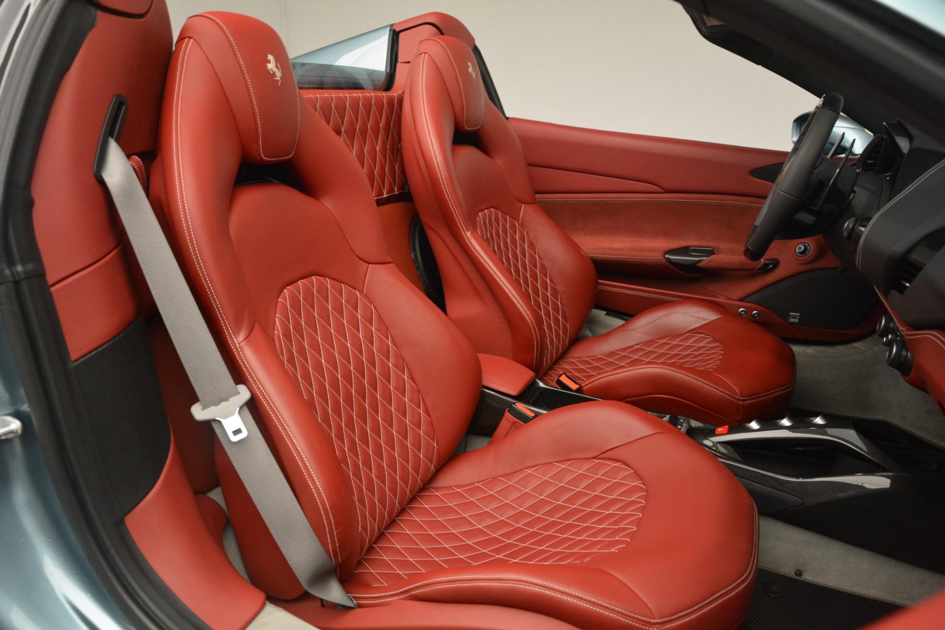 Used 2017 Ferrari 488 Spider  For Sale In Greenwich, CT. Alfa Romeo of Greenwich, 4577C 3237_p24