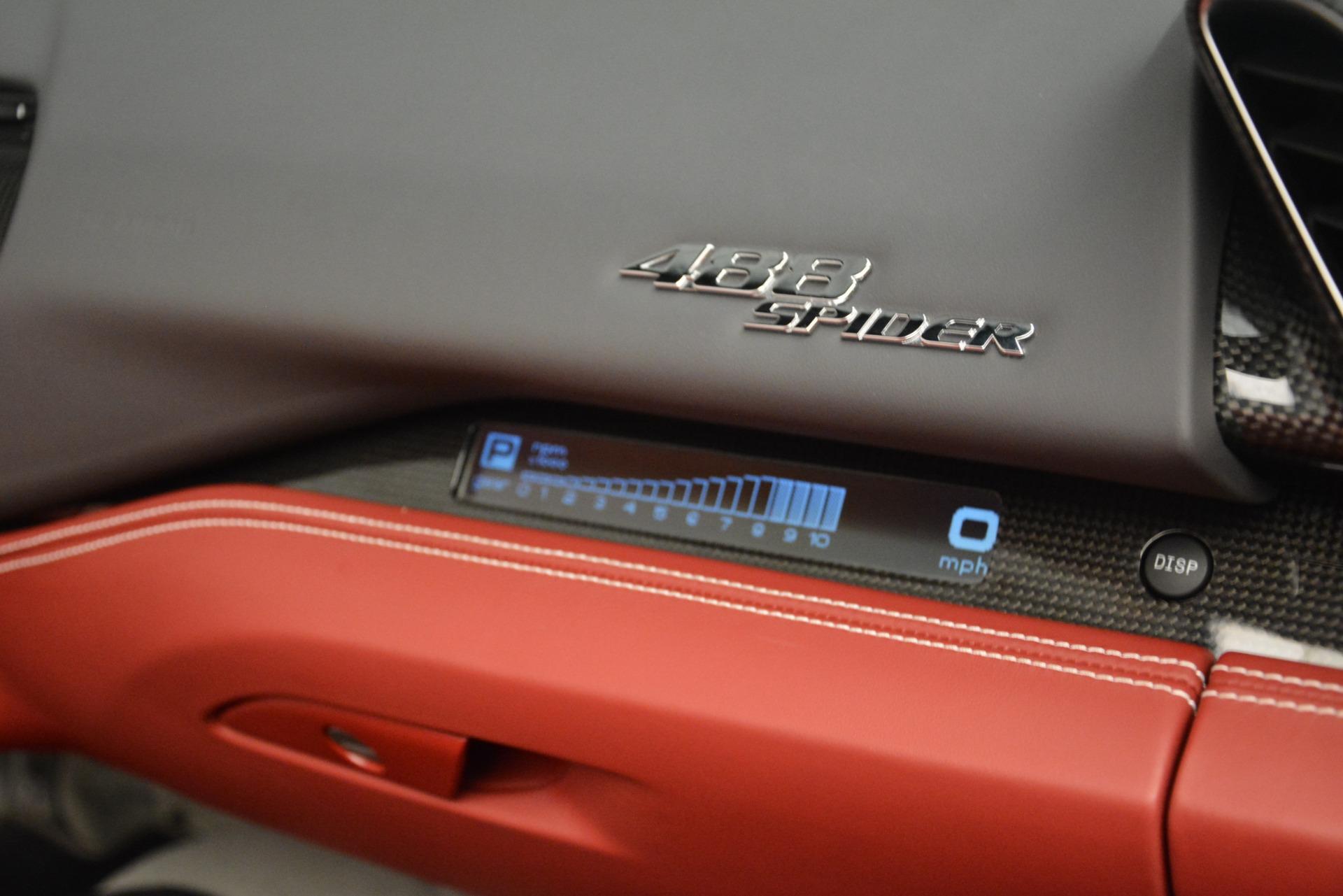 Used 2017 Ferrari 488 Spider  For Sale In Greenwich, CT. Alfa Romeo of Greenwich, 4577C 3237_p29