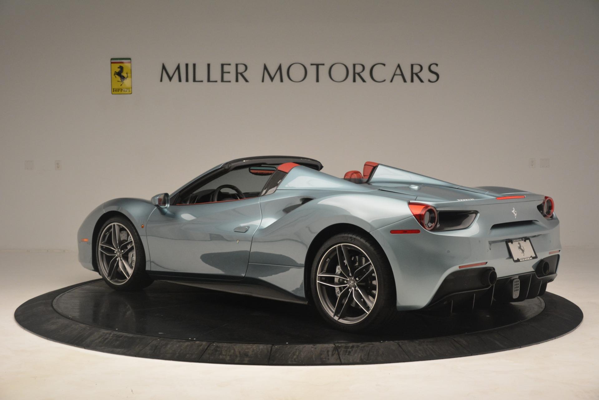 Used 2017 Ferrari 488 Spider  For Sale In Greenwich, CT. Alfa Romeo of Greenwich, 4577C 3237_p4