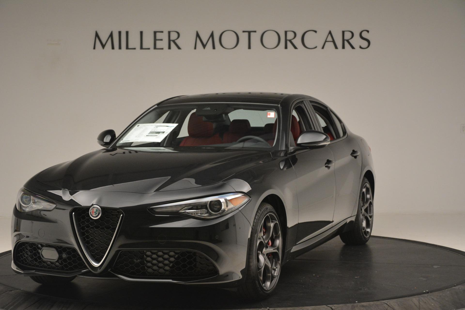 New 2019 Alfa Romeo Giulia Ti Sport Q4 For Sale In Greenwich, CT. Alfa Romeo of Greenwich, L635 3243_main