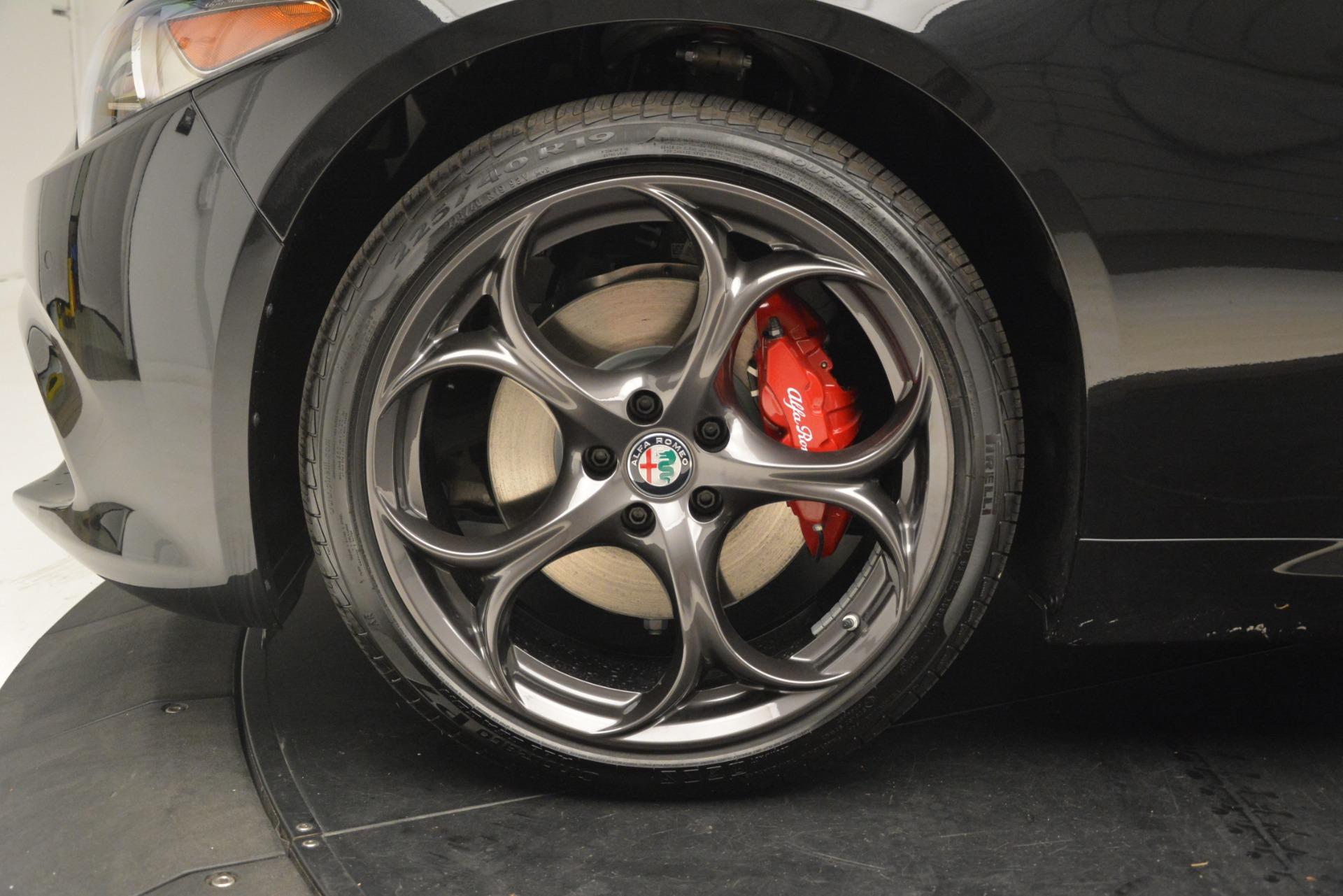 New 2019 Alfa Romeo Giulia Ti Sport Q4 For Sale In Greenwich, CT. Alfa Romeo of Greenwich, L635 3243_p30