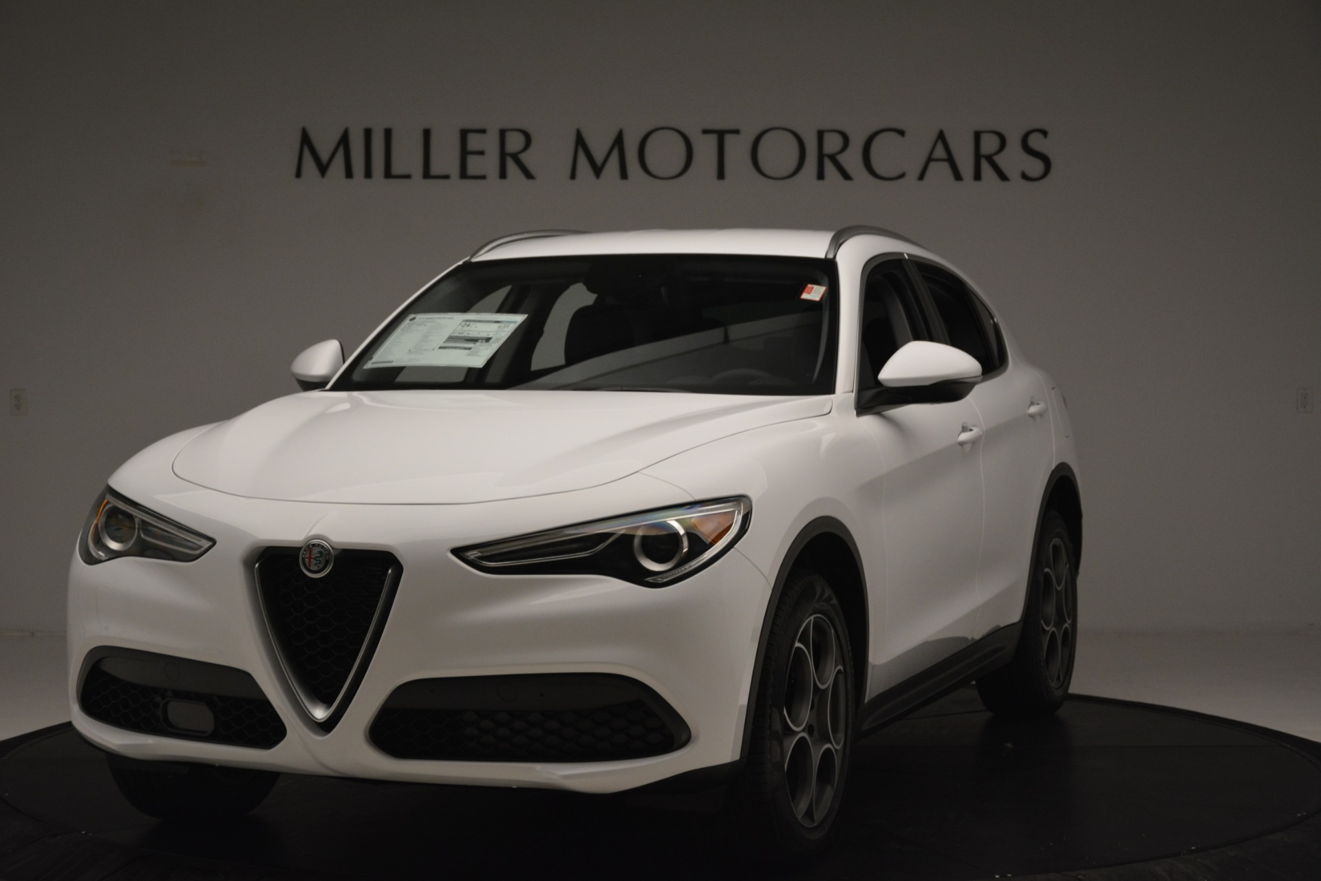 New 2019 Alfa Romeo Stelvio Q4 For Sale In Greenwich, CT. Alfa Romeo of Greenwich, LW339