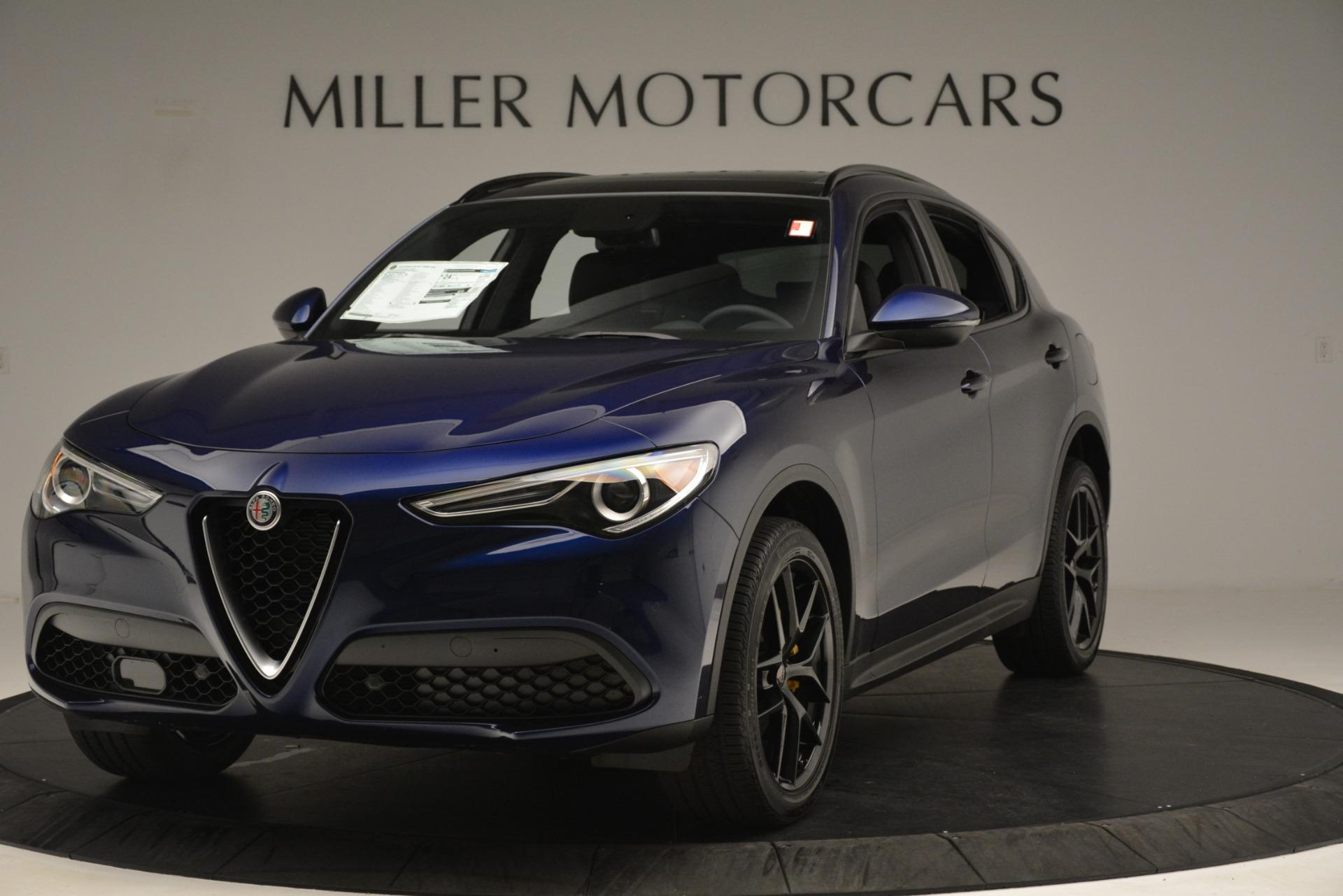 New 2019 Alfa Romeo Stelvio Ti Sport Q4 For Sale In Greenwich, CT. Alfa Romeo of Greenwich, L630 3249_main