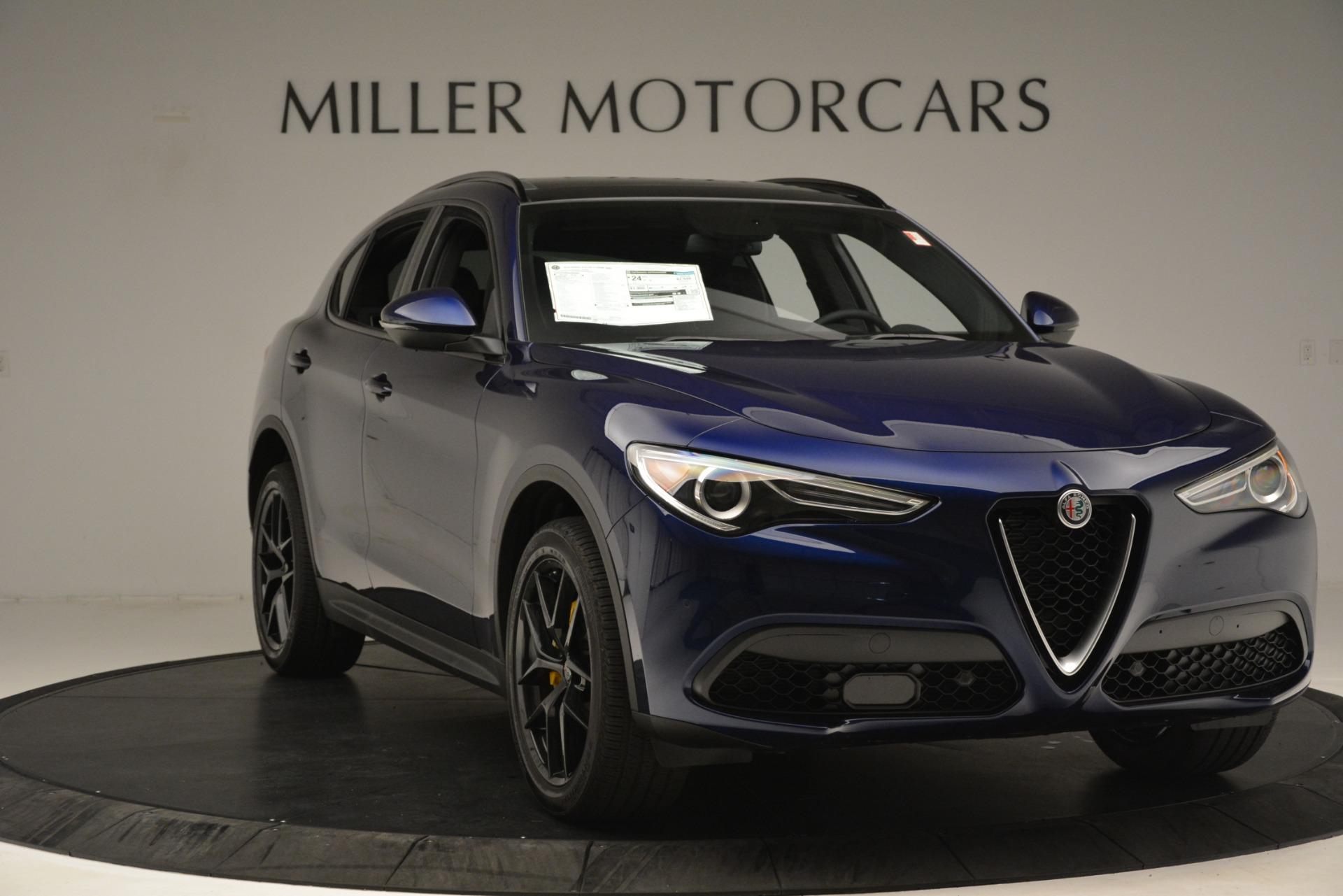 New 2019 Alfa Romeo Stelvio Ti Sport Q4 For Sale In Greenwich, CT. Alfa Romeo of Greenwich, L630 3249_p11