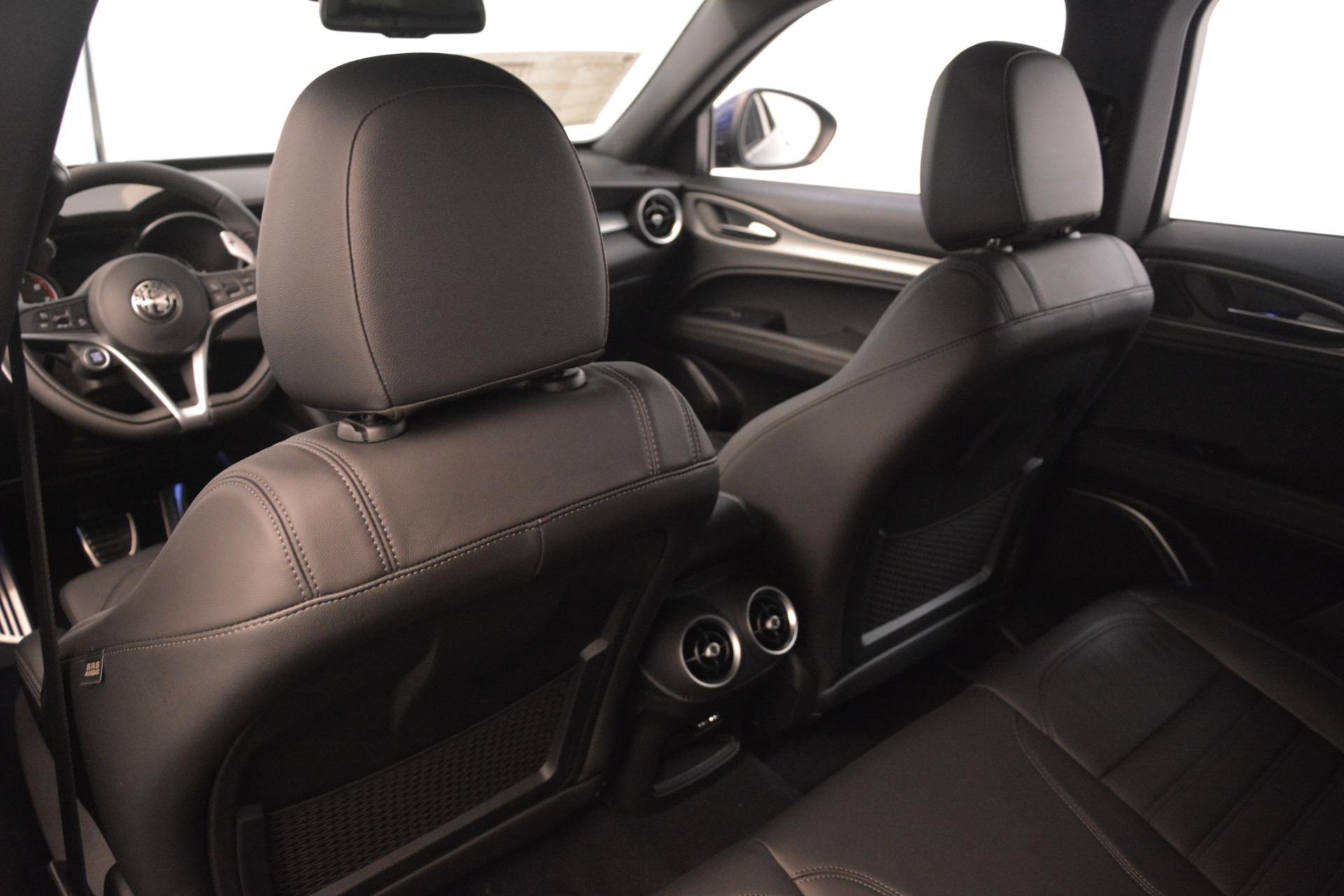 New 2019 Alfa Romeo Stelvio Ti Sport Q4 For Sale In Greenwich, CT. Alfa Romeo of Greenwich, L630 3249_p20