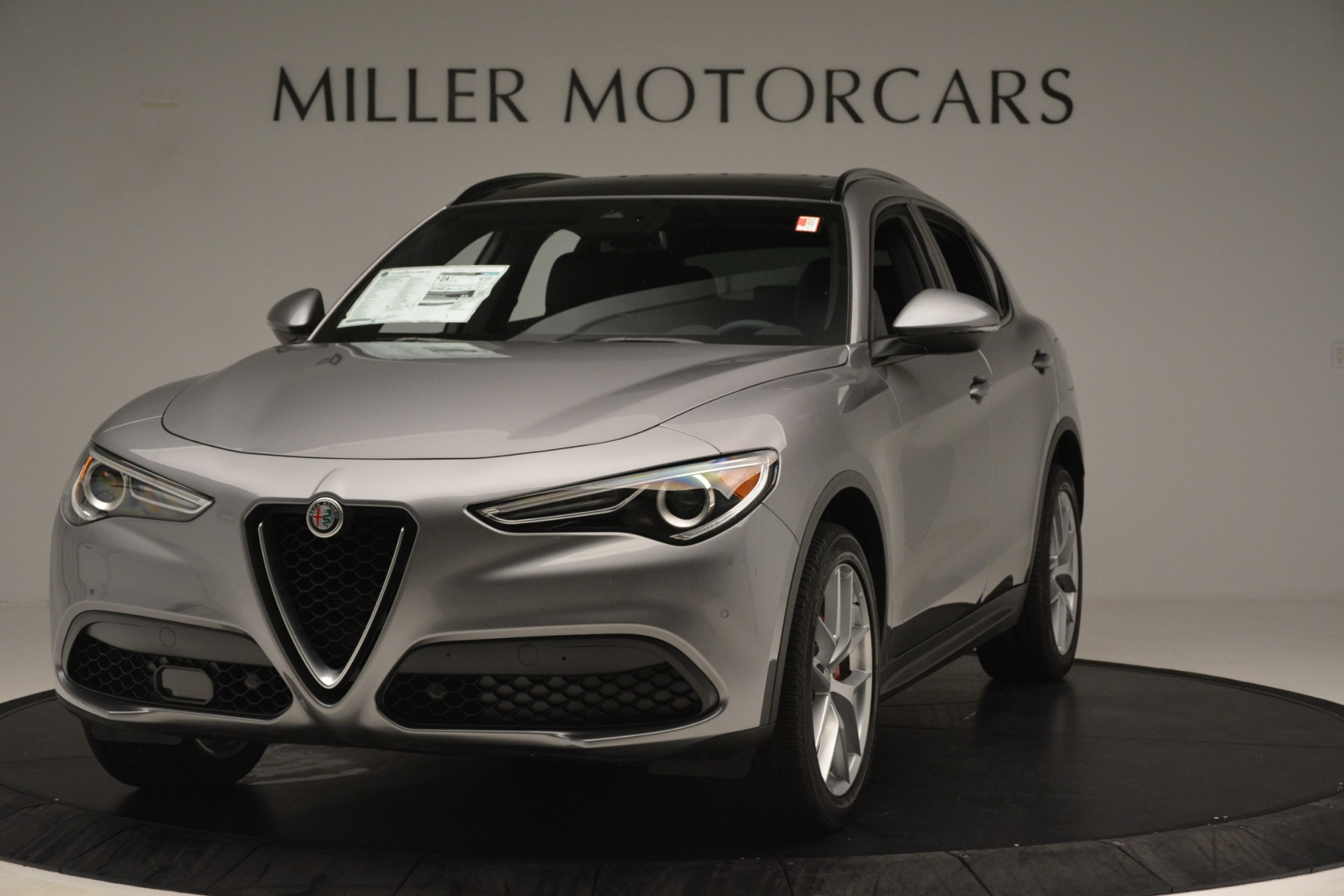 New 2019 Alfa Romeo Stelvio Ti Sport Q4 For Sale In Greenwich, CT. Alfa Romeo of Greenwich, L632 3250_main