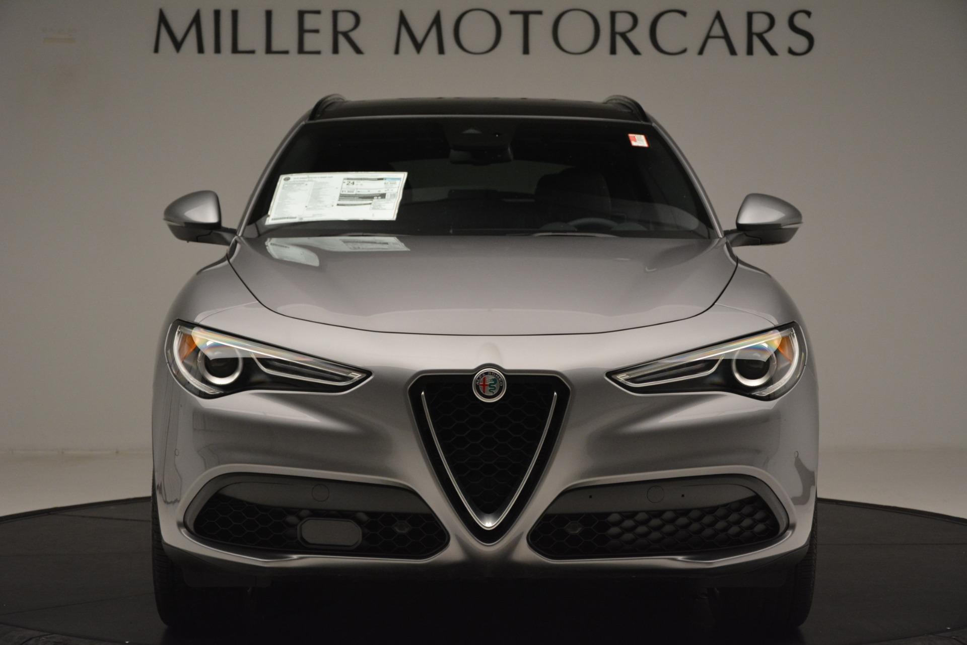 New 2019 Alfa Romeo Stelvio Ti Sport Q4 For Sale In Greenwich, CT. Alfa Romeo of Greenwich, L632 3250_p12