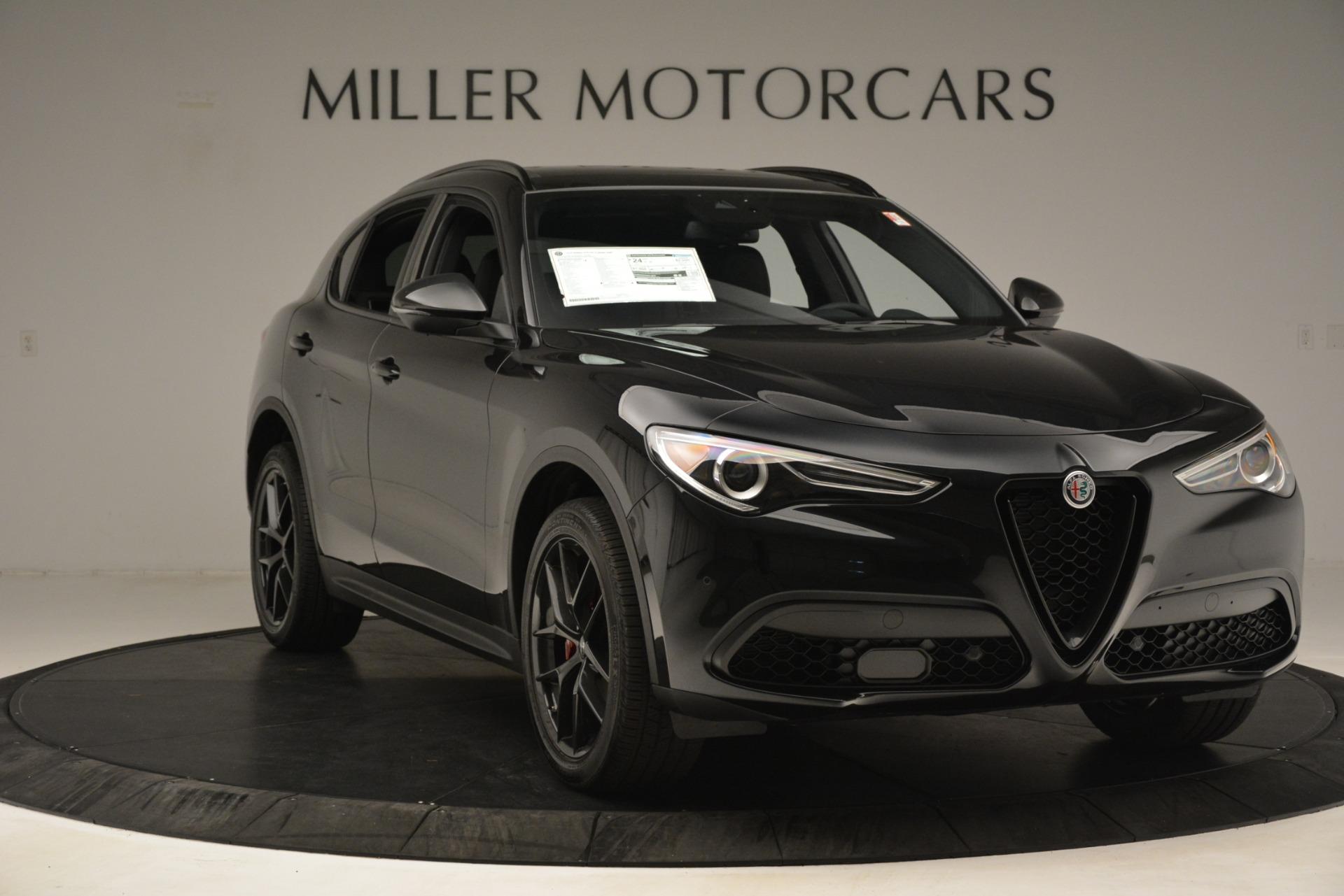 New 2019 Alfa Romeo Stelvio Ti Sport Q4 For Sale In Greenwich, CT. Alfa Romeo of Greenwich, L633 3251_p11