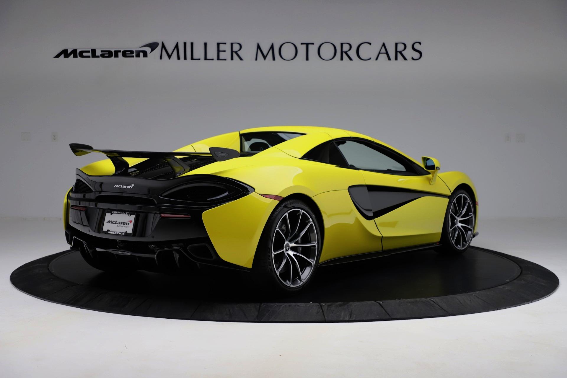 New 2019 McLaren 570S Spider Convertible For Sale In Greenwich, CT. Alfa Romeo of Greenwich, MC436 3253_p13