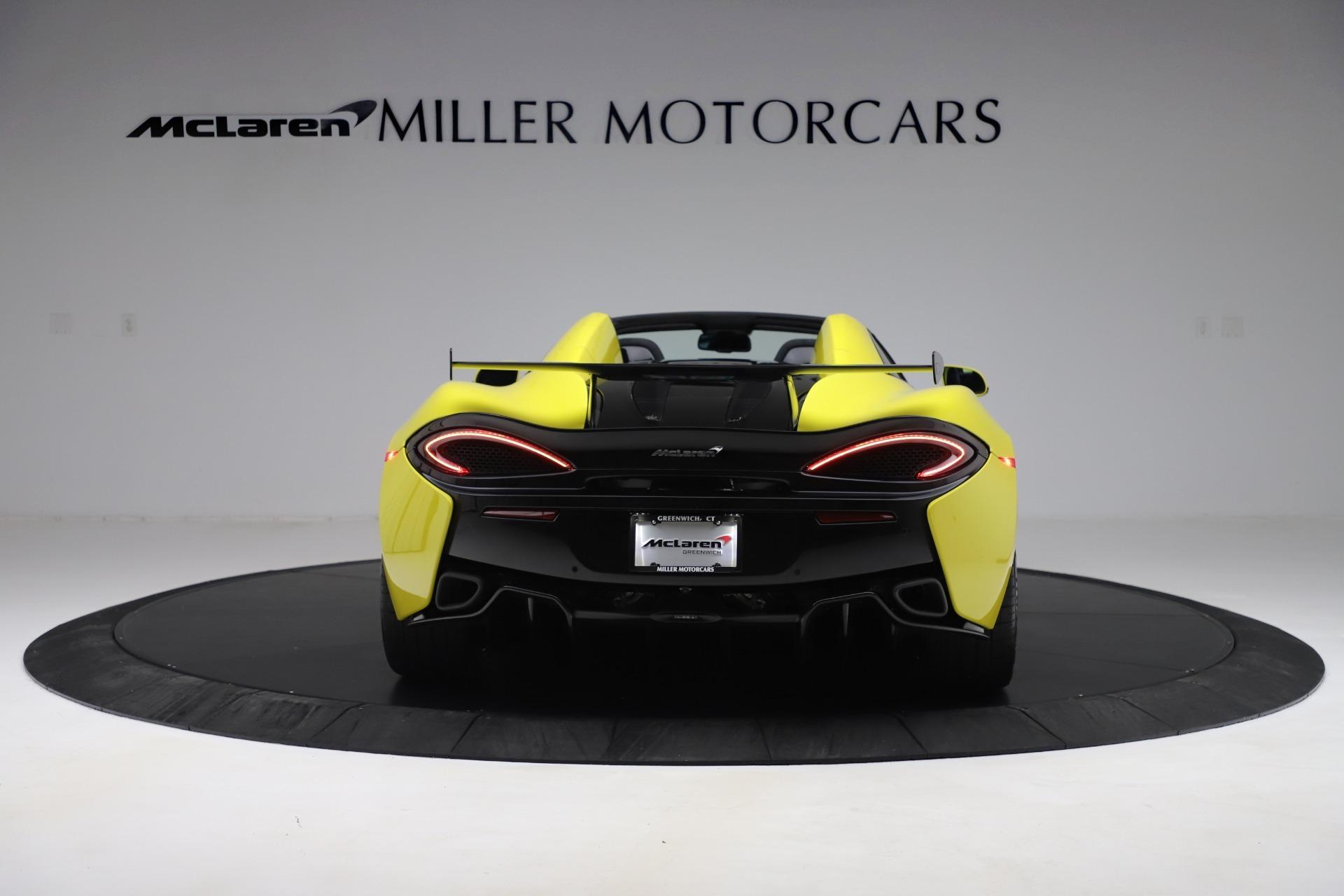 New 2019 McLaren 570S Spider Convertible For Sale In Greenwich, CT. Alfa Romeo of Greenwich, MC436 3253_p4