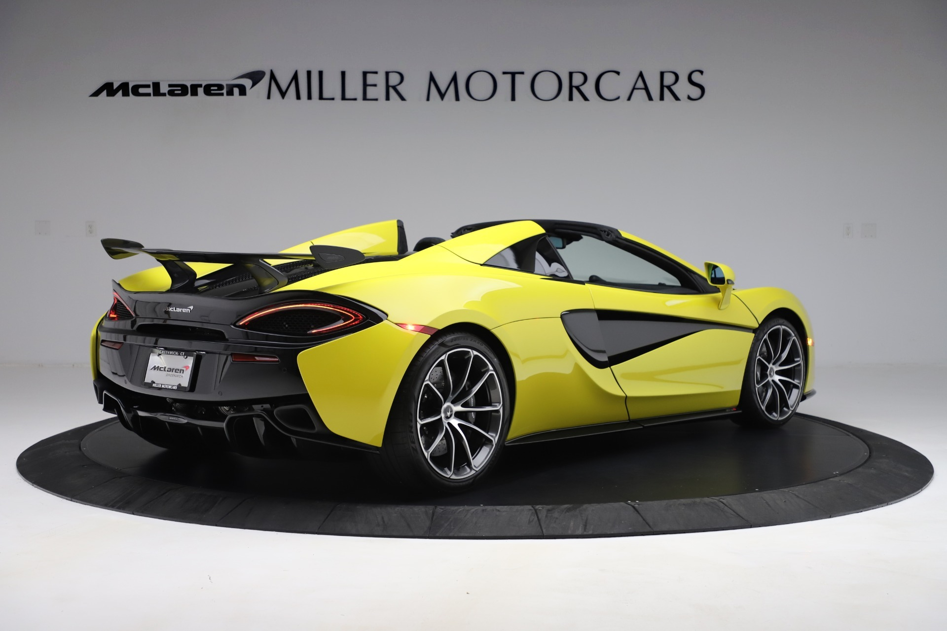 New 2019 McLaren 570S Spider Convertible For Sale In Greenwich, CT. Alfa Romeo of Greenwich, MC436 3253_p5