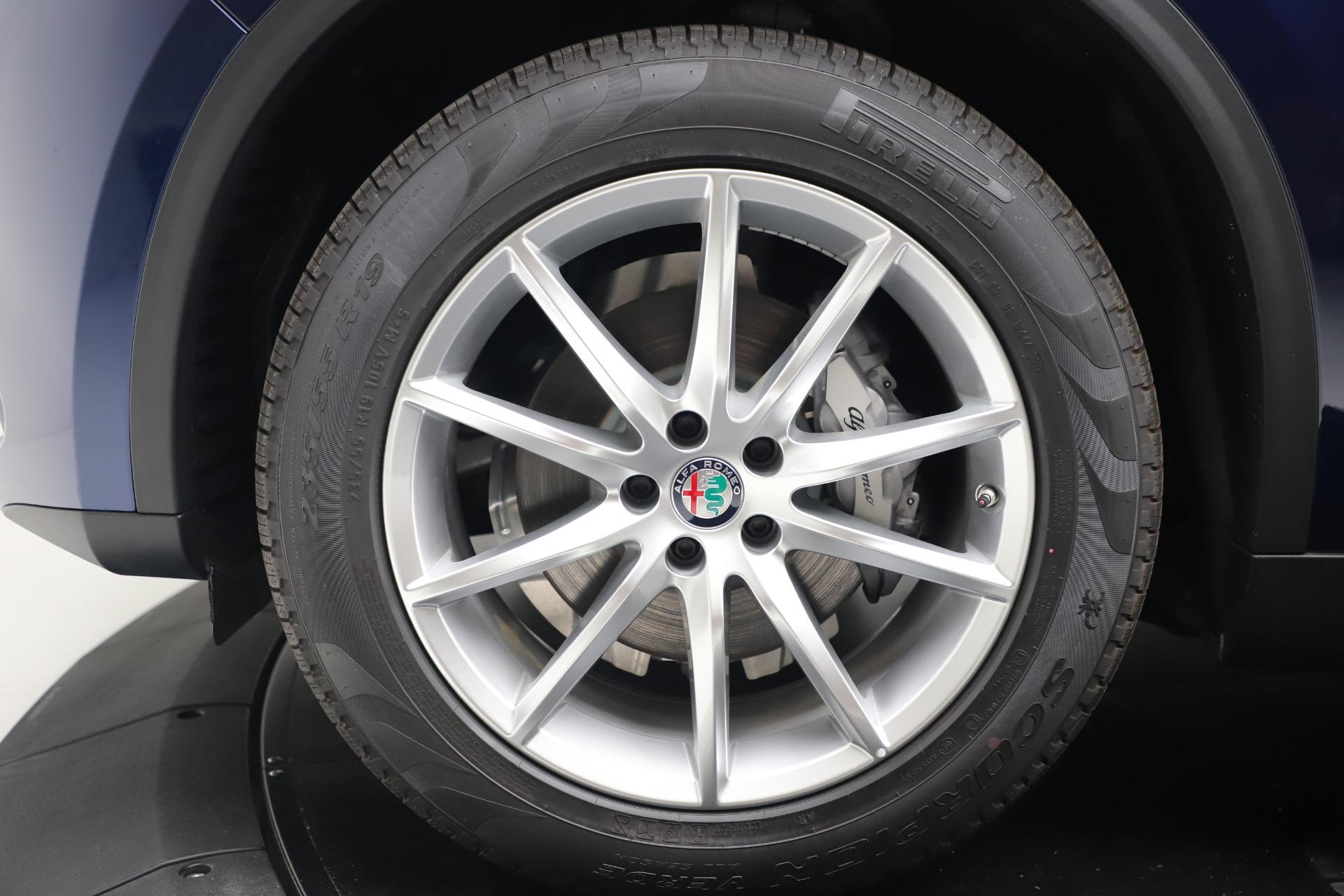 New 2019 Alfa Romeo Stelvio Ti Lusso Q4 For Sale In Greenwich, CT. Alfa Romeo of Greenwich, LW342 3259_p30