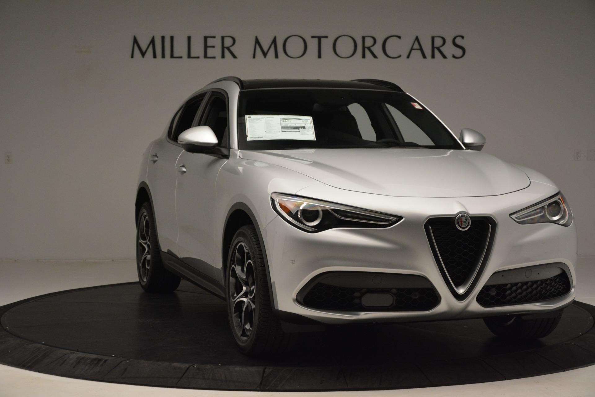 New 2019 Alfa Romeo Stelvio Ti Sport Q4 For Sale In Greenwich, CT. Alfa Romeo of Greenwich, LW344 3261_p11