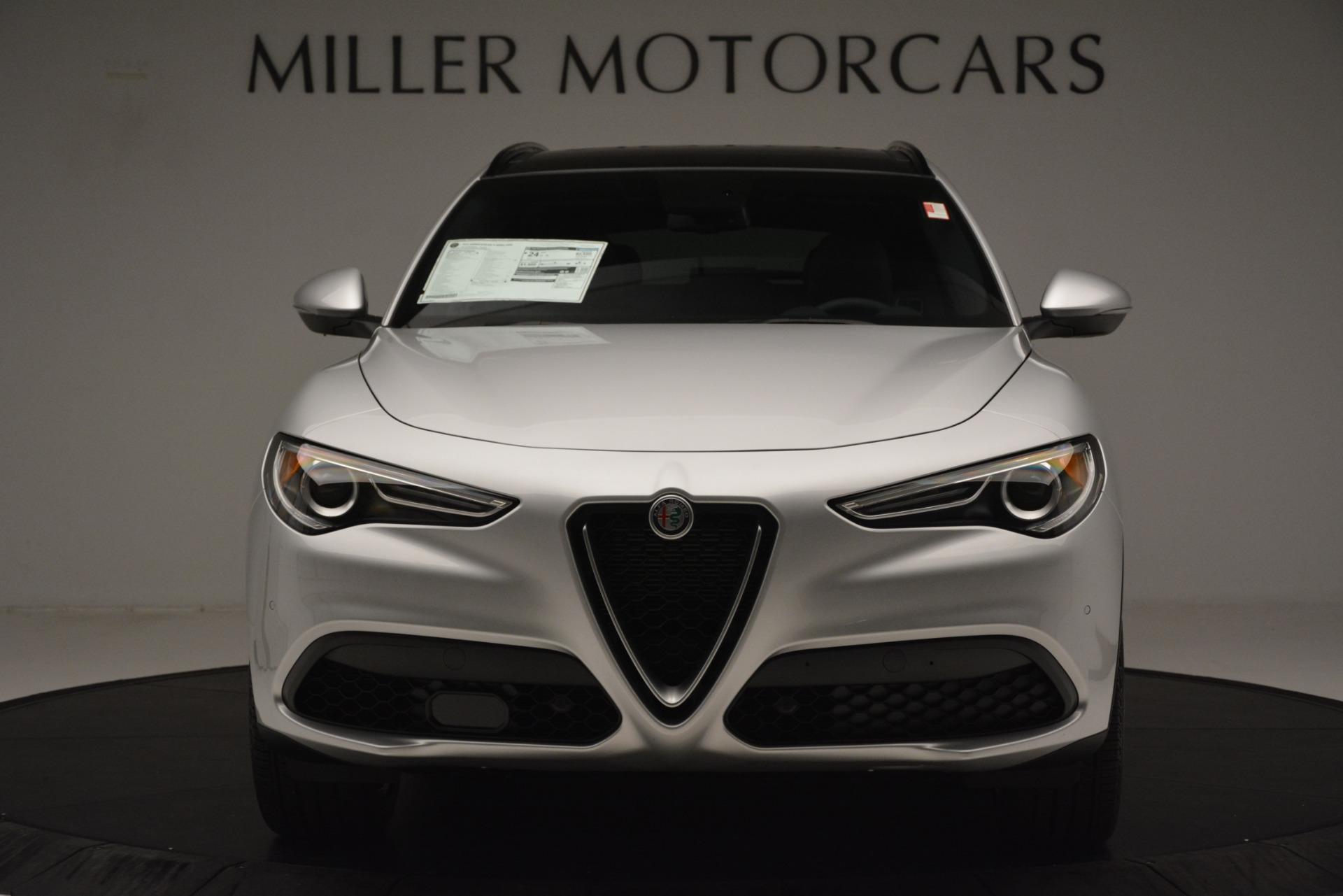 New 2019 Alfa Romeo Stelvio Ti Sport Q4 For Sale In Greenwich, CT. Alfa Romeo of Greenwich, LW344 3261_p12