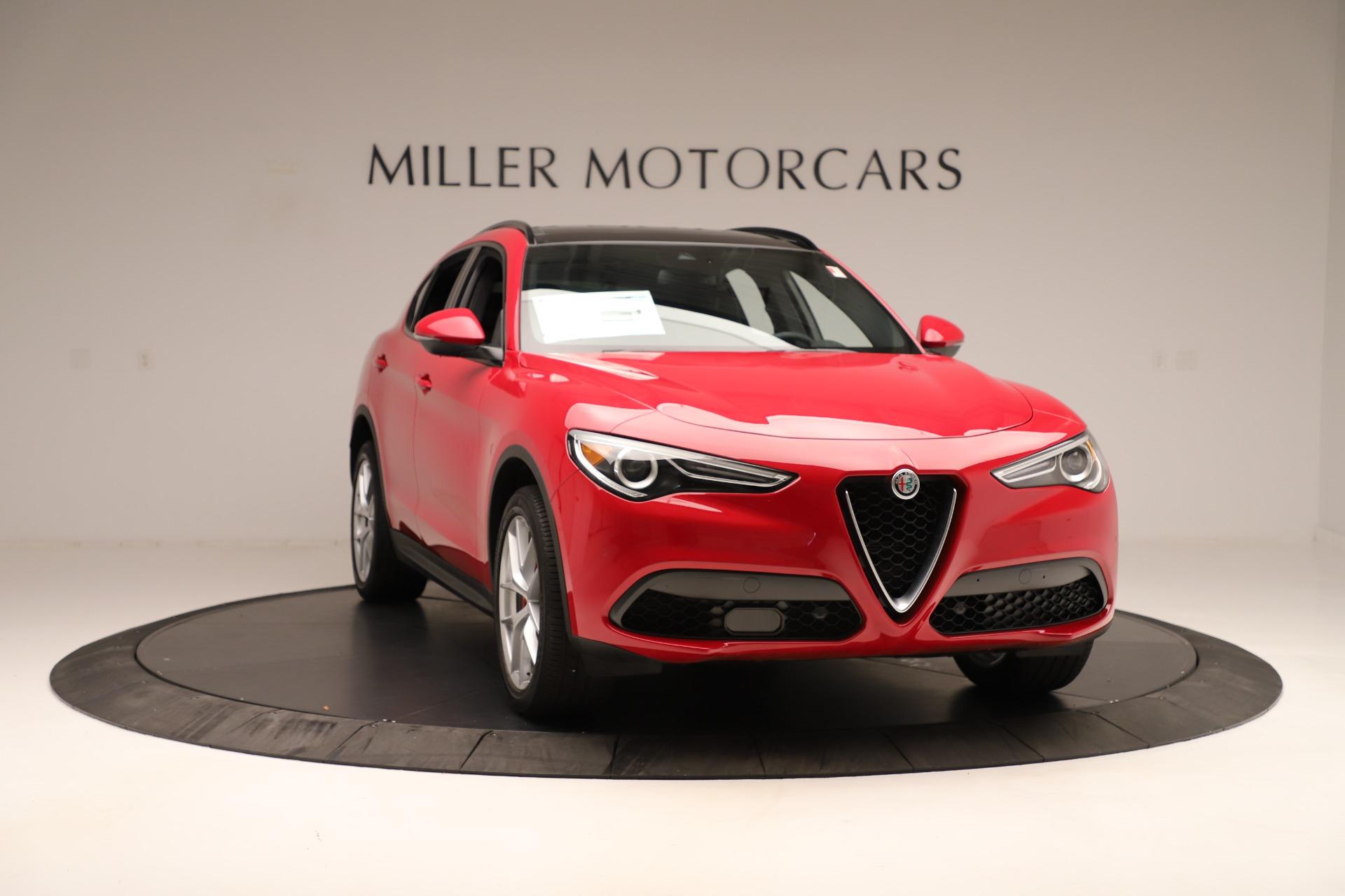 New 2019 Alfa Romeo Stelvio Ti Sport Q4 For Sale In Greenwich, CT. Alfa Romeo of Greenwich, LW345 3262_p11