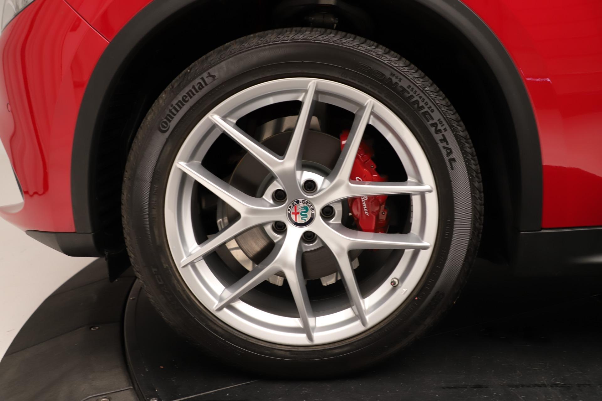 New 2019 Alfa Romeo Stelvio Ti Sport Q4 For Sale In Greenwich, CT. Alfa Romeo of Greenwich, LW345 3262_p30