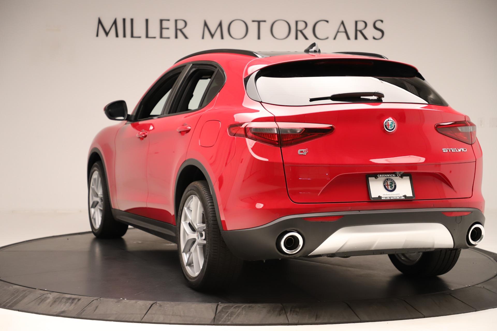 New 2019 Alfa Romeo Stelvio Ti Sport Q4 For Sale In Greenwich, CT. Alfa Romeo of Greenwich, LW345 3262_p5
