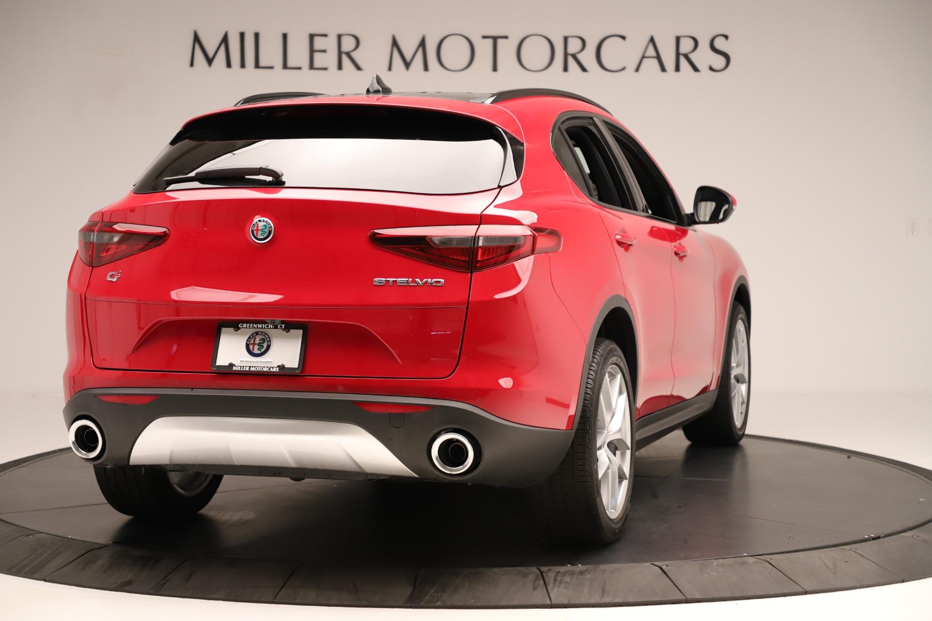 New 2019 Alfa Romeo Stelvio Ti Sport Q4 For Sale In Greenwich, CT. Alfa Romeo of Greenwich, LW345 3262_p7