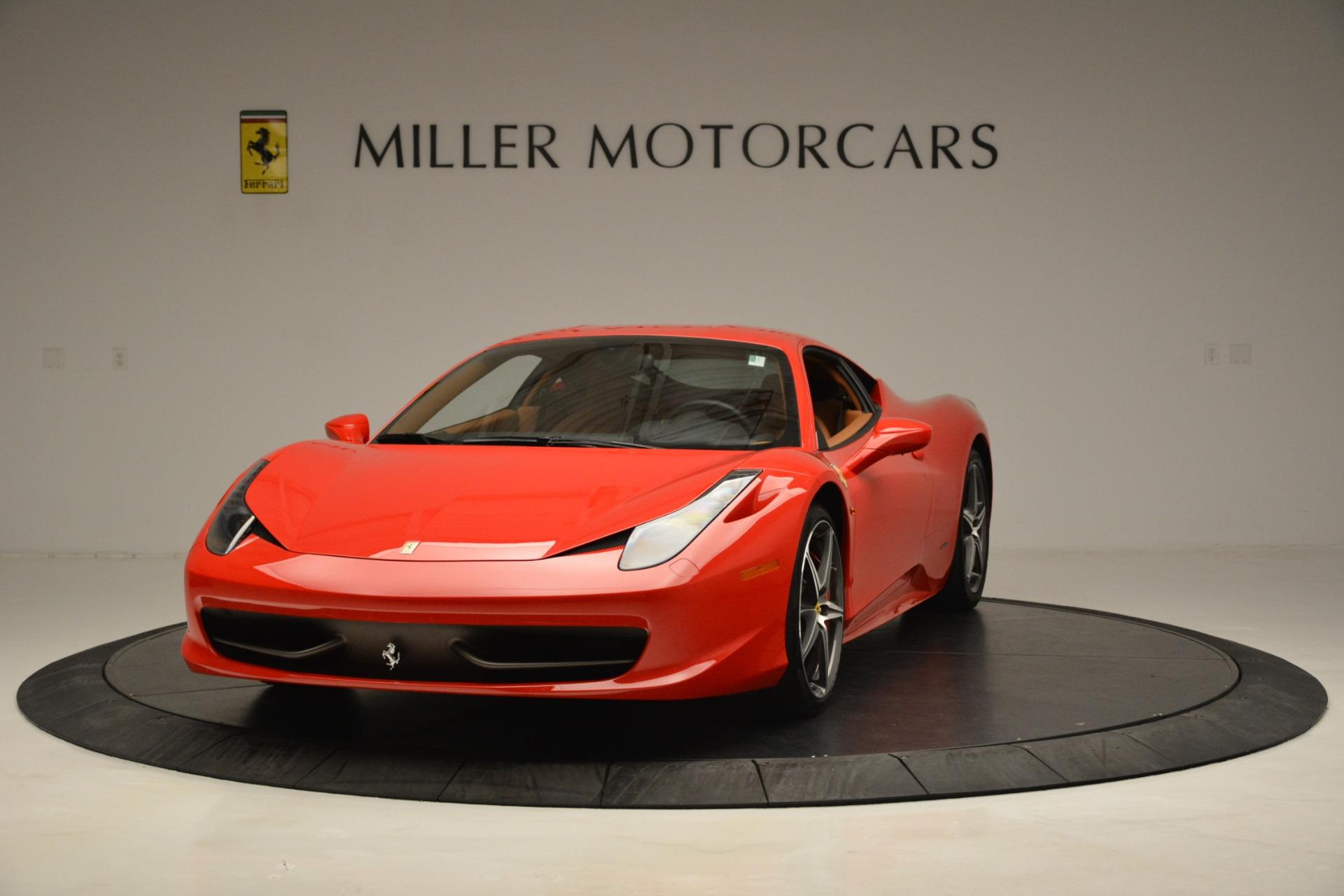Used 2014 Ferrari 458 Italia  For Sale In Greenwich, CT. Alfa Romeo of Greenwich, 4582 3271_main