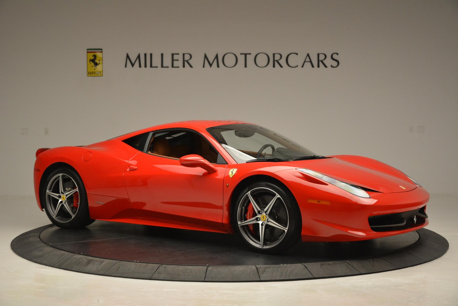 Used 2014 Ferrari 458 Italia  For Sale In Greenwich, CT. Alfa Romeo of Greenwich, 4582 3271_p10