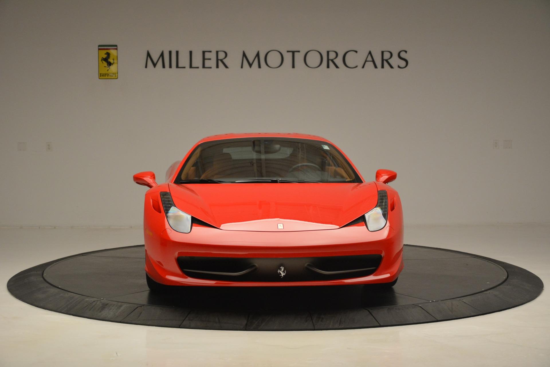 Used 2014 Ferrari 458 Italia  For Sale In Greenwich, CT. Alfa Romeo of Greenwich, 4582 3271_p12