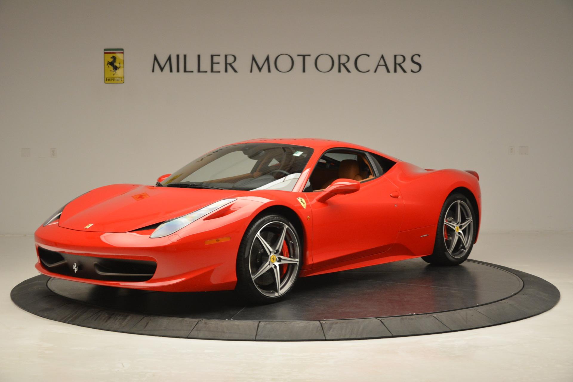 Used 2014 Ferrari 458 Italia  For Sale In Greenwich, CT. Alfa Romeo of Greenwich, 4582 3271_p2
