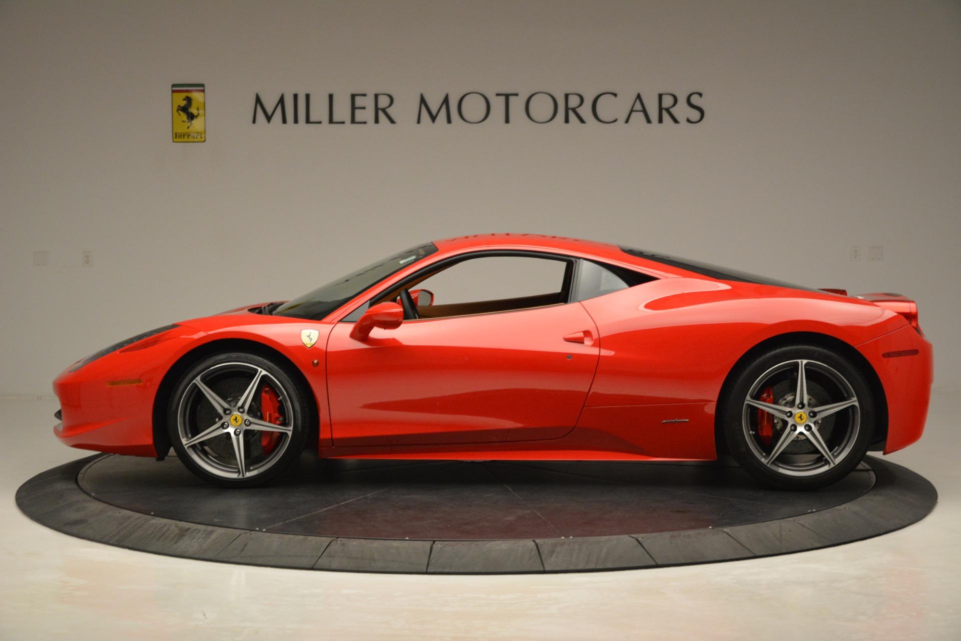 Used 2014 Ferrari 458 Italia  For Sale In Greenwich, CT. Alfa Romeo of Greenwich, 4582 3271_p3