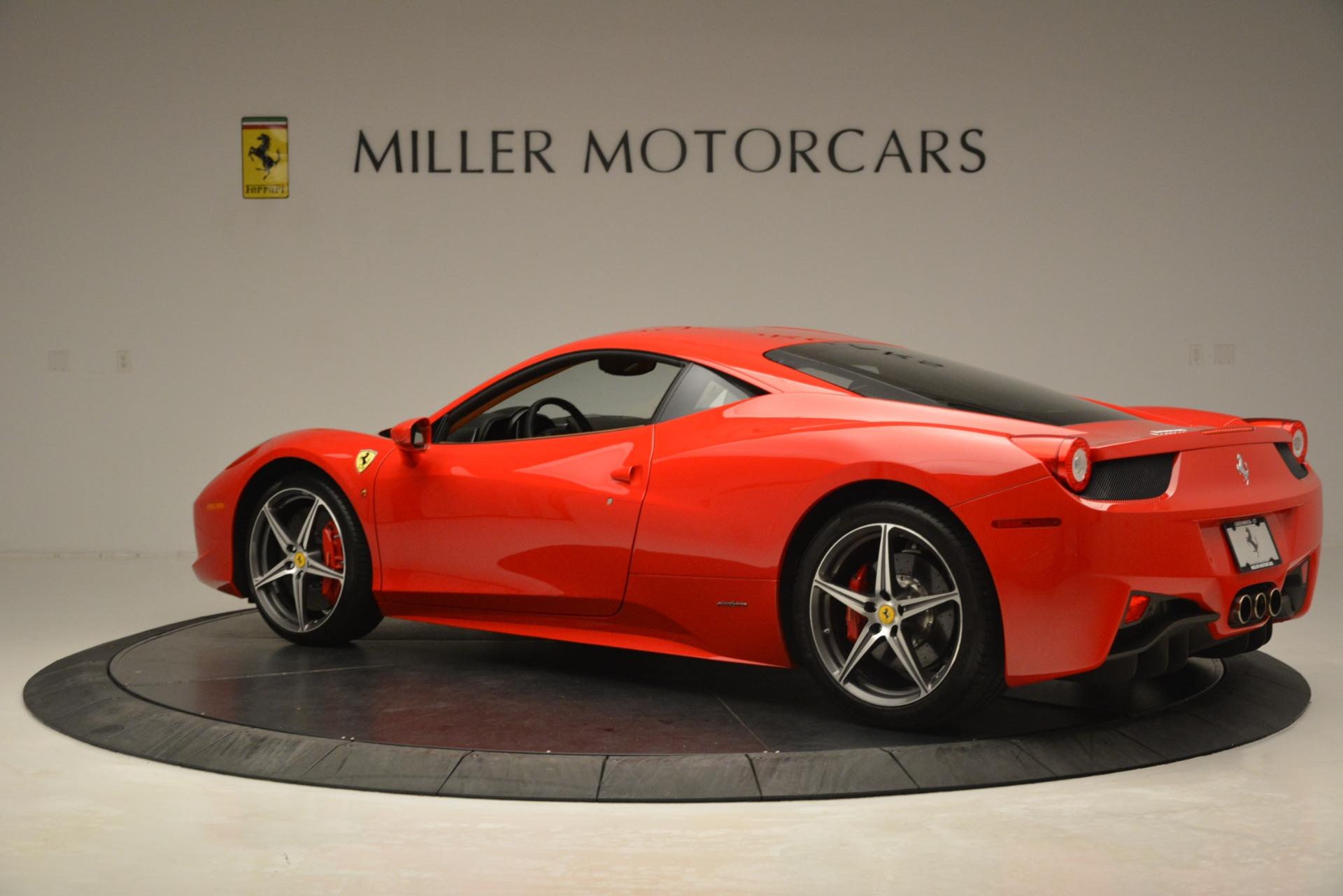 Used 2014 Ferrari 458 Italia  For Sale In Greenwich, CT. Alfa Romeo of Greenwich, 4582 3271_p4