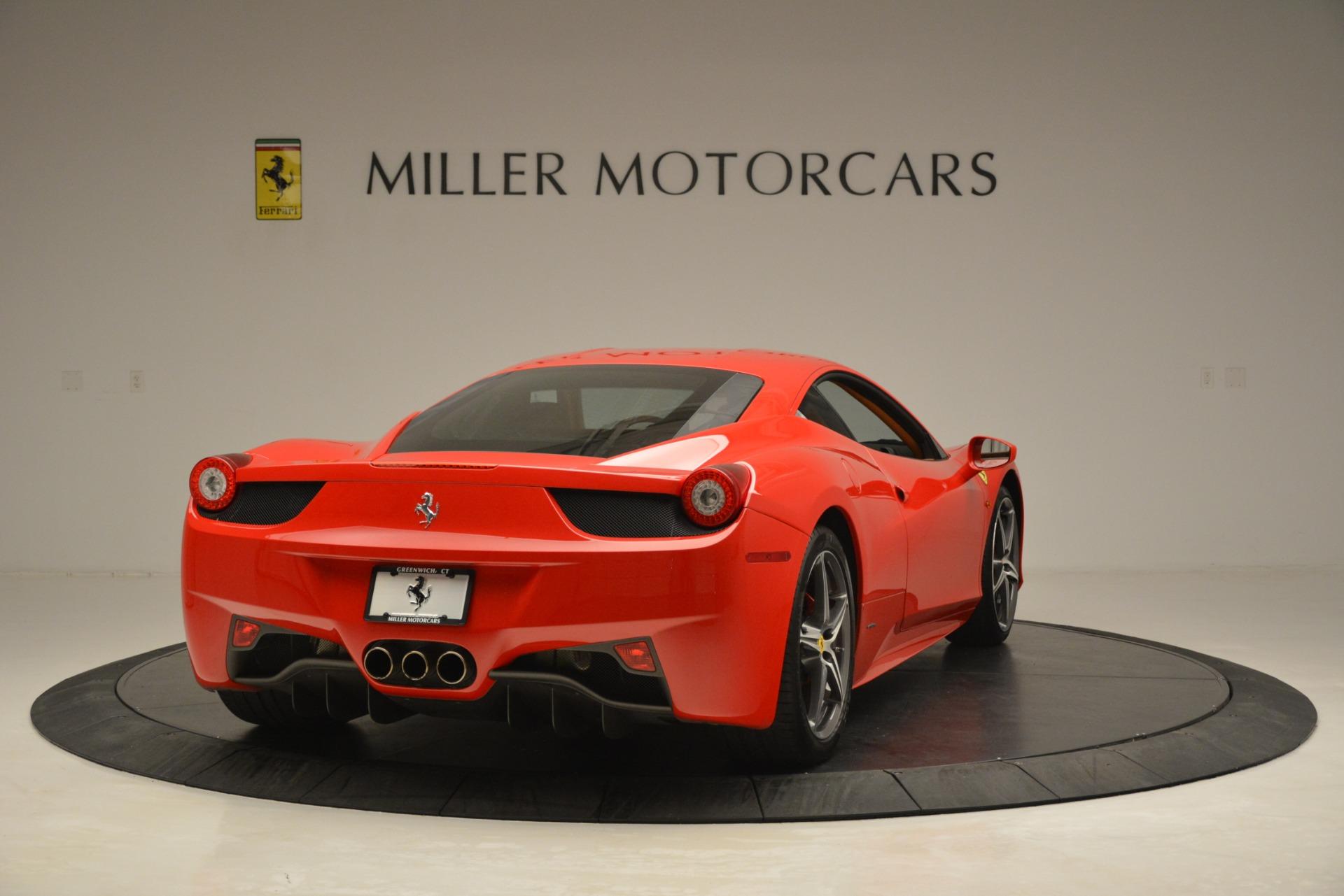 Used 2014 Ferrari 458 Italia  For Sale In Greenwich, CT. Alfa Romeo of Greenwich, 4582 3271_p7