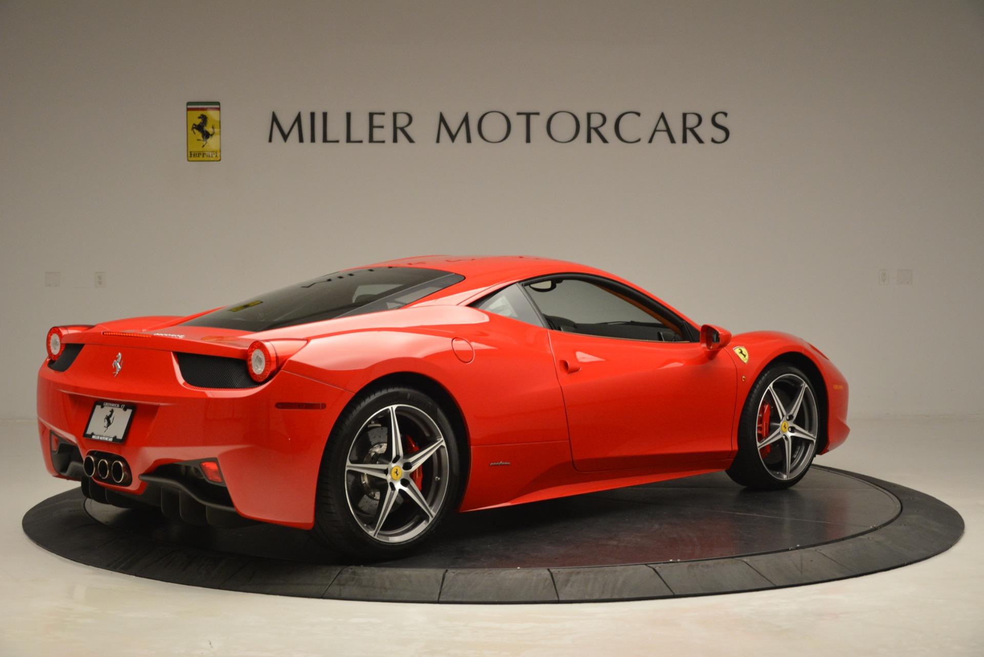Used 2014 Ferrari 458 Italia  For Sale In Greenwich, CT. Alfa Romeo of Greenwich, 4582 3271_p8