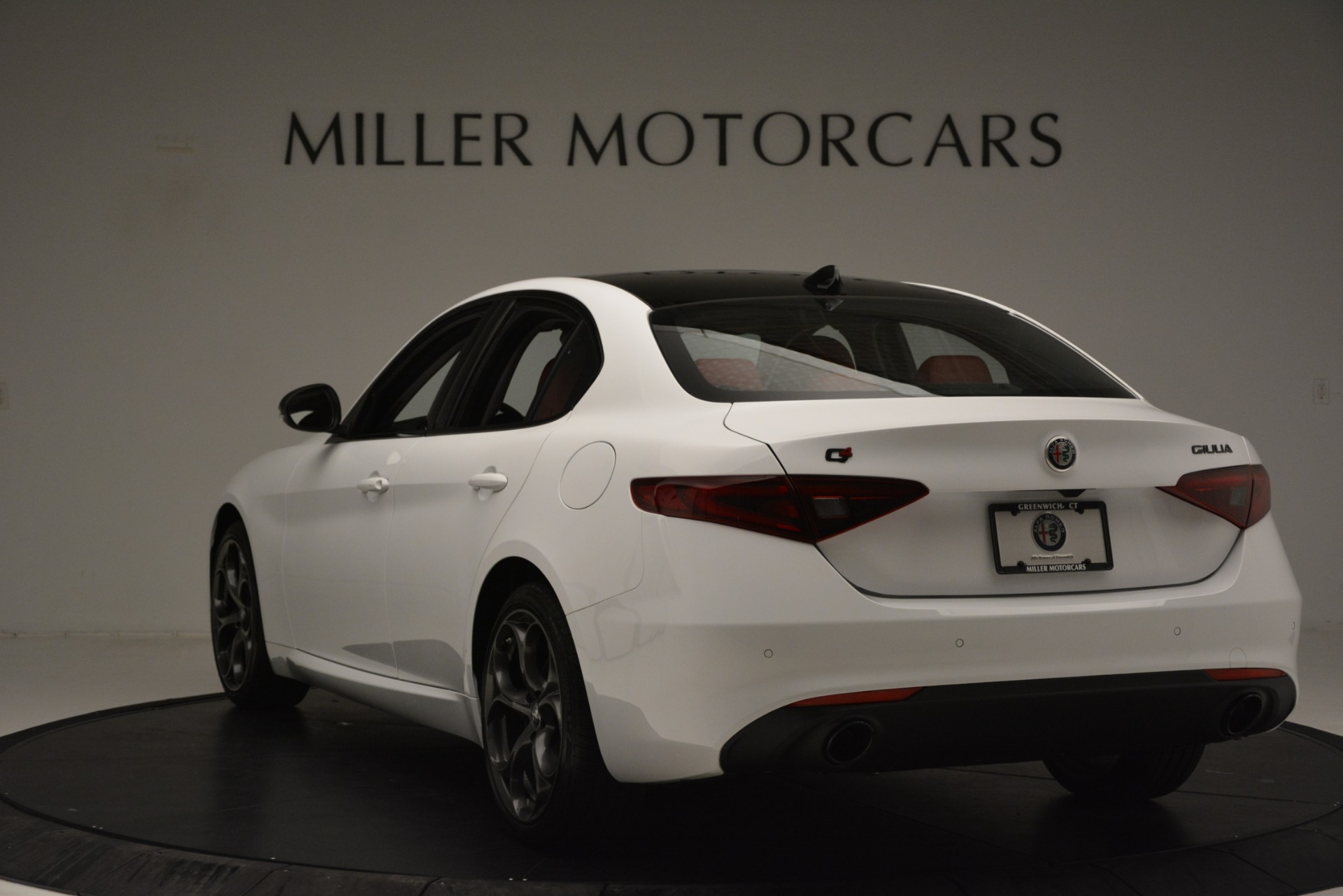 New 2019 Alfa Romeo Giulia Q4 For Sale In Greenwich, CT. Alfa Romeo of Greenwich, L636 3272_p5