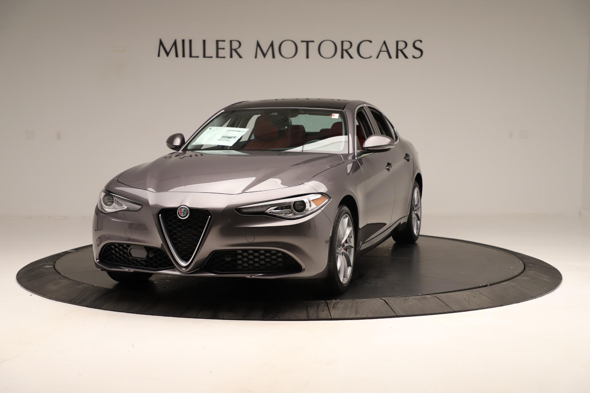 New 2019 Alfa Romeo Giulia Q4 For Sale In Greenwich, CT. Alfa Romeo of Greenwich, L639 3275_main