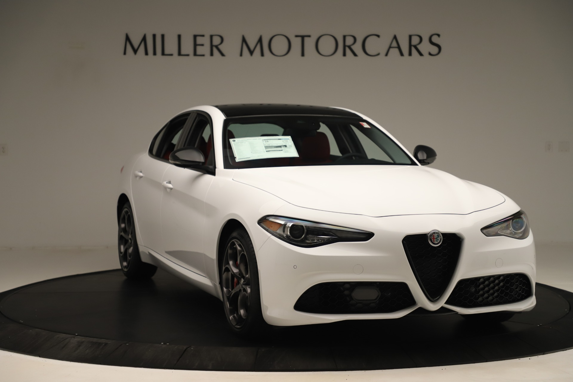 New 2019 Alfa Romeo Giulia Ti Sport Q4 For Sale In Greenwich, CT. Alfa Romeo of Greenwich, L646 3282_p11