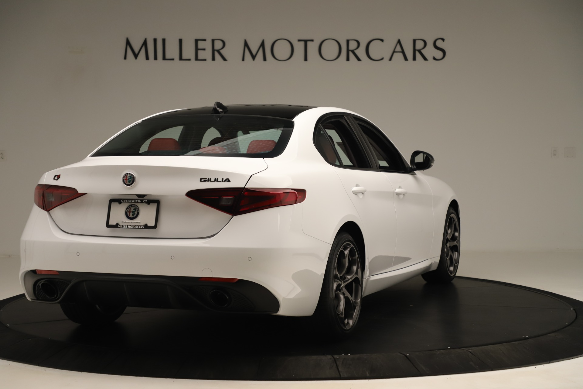 New 2019 Alfa Romeo Giulia Ti Sport Q4 For Sale In Greenwich, CT. Alfa Romeo of Greenwich, L646 3282_p7