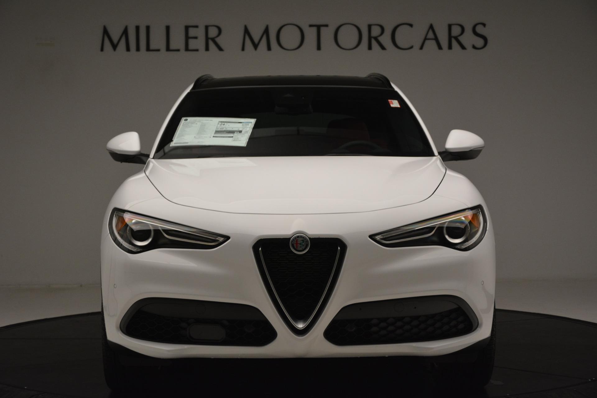 New 2019 Alfa Romeo Stelvio Ti Sport Q4 For Sale In Greenwich, CT. Alfa Romeo of Greenwich, L649 3285_p12