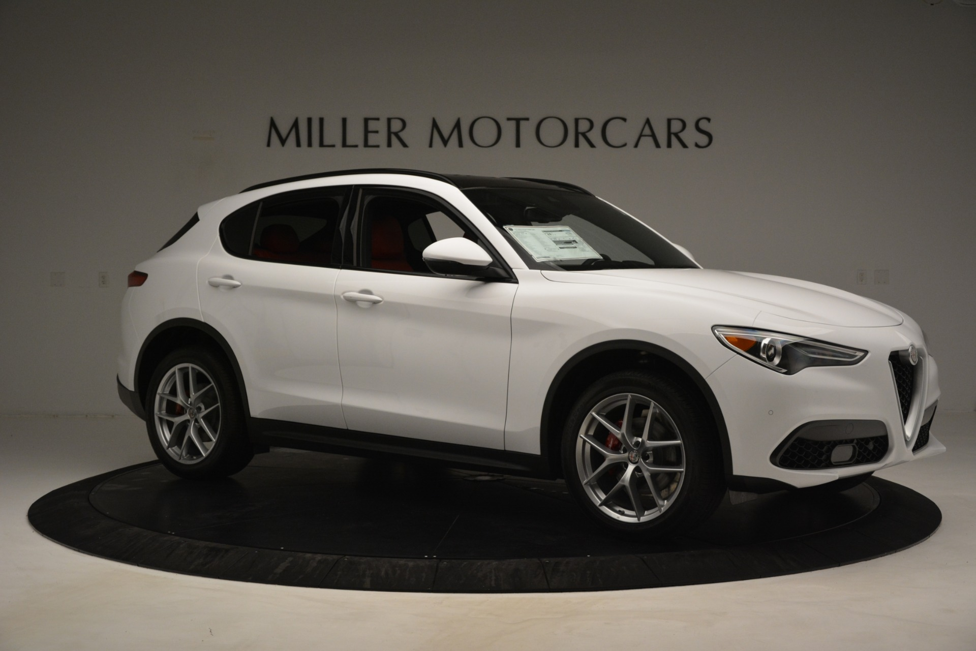 New 2019 Alfa Romeo Stelvio Ti Sport Q4 For Sale In Greenwich, CT. Alfa Romeo of Greenwich, L650 3286_p10