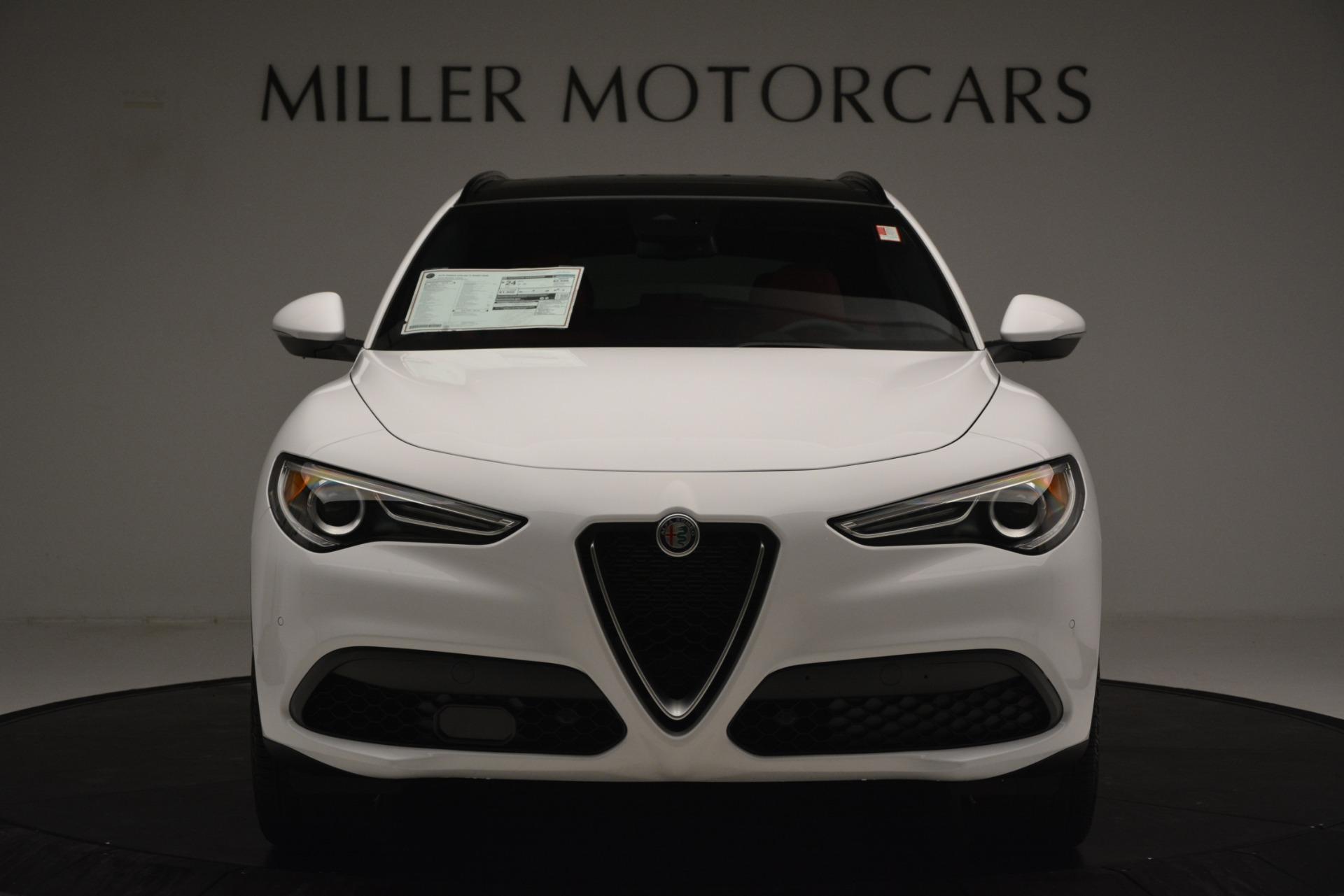 New 2019 Alfa Romeo Stelvio Ti Sport Q4 For Sale In Greenwich, CT. Alfa Romeo of Greenwich, L650 3286_p12